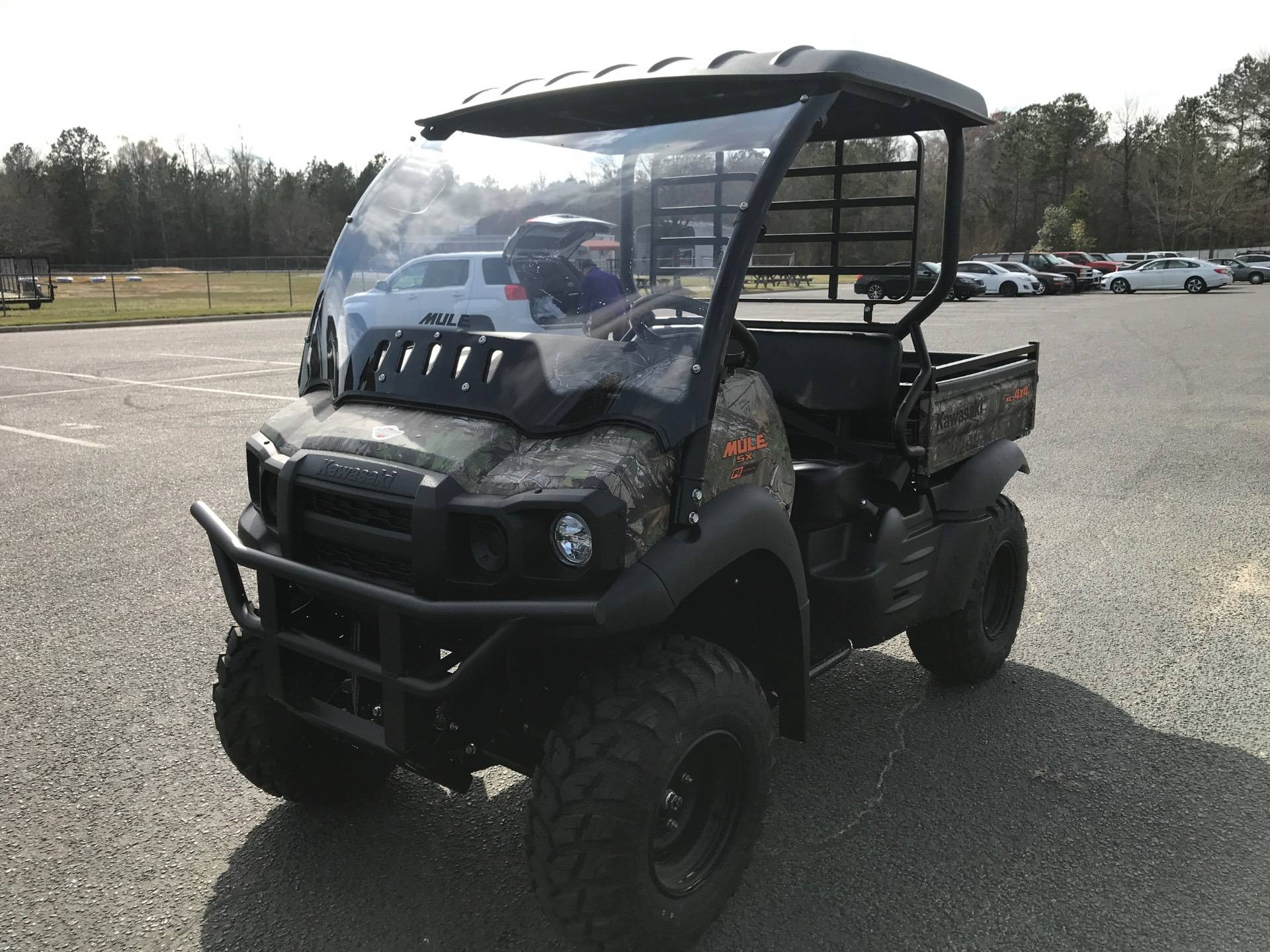 2021 Kawasaki Mule SX 4X4 XC Camo FI in Greenville, North Carolina - Photo 5