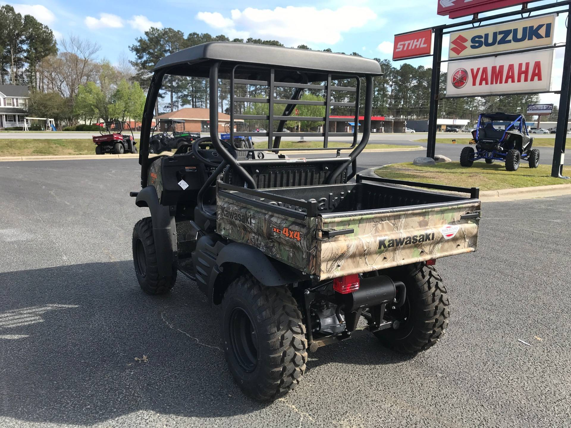 2021 Kawasaki Mule SX 4X4 XC Camo FI in Greenville, North Carolina - Photo 9