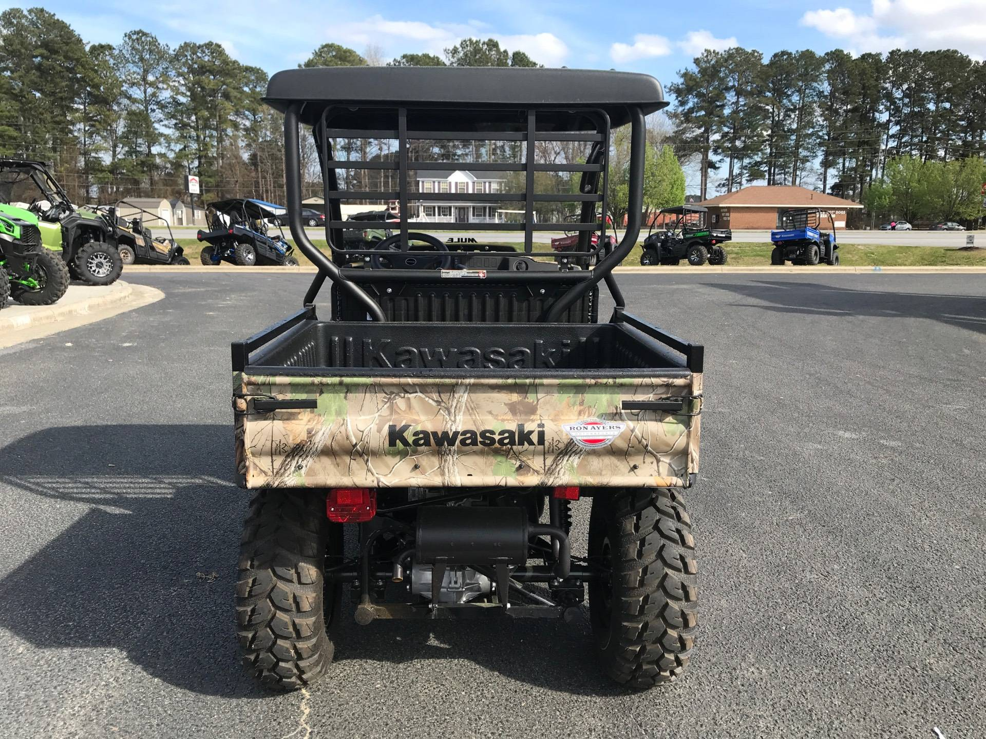 2021 Kawasaki Mule SX 4X4 XC Camo FI in Greenville, North Carolina - Photo 10