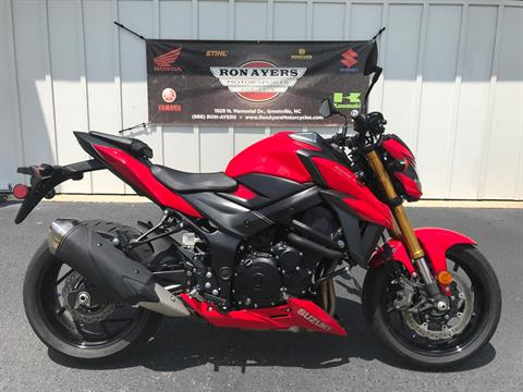 2018 Suzuki GSX-S750 in Greenville, North Carolina - Photo 1