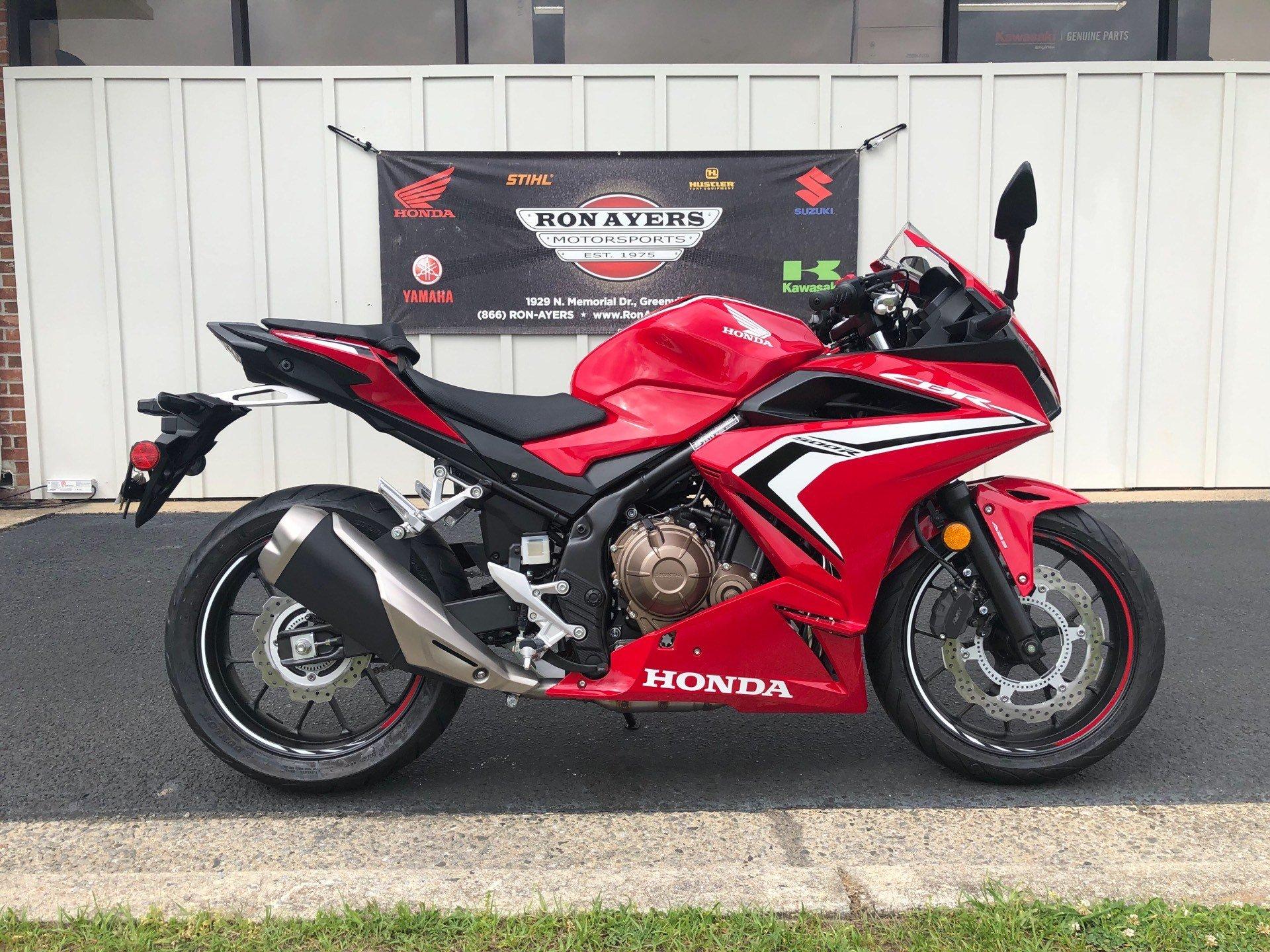 Honda Greenville Nc >> New 2019 Honda CBR500R ABS Motorcycles in Greenville, NC ...