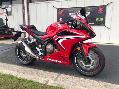 2019 Honda CBR500R ABS in Greenville, North Carolina - Photo 2