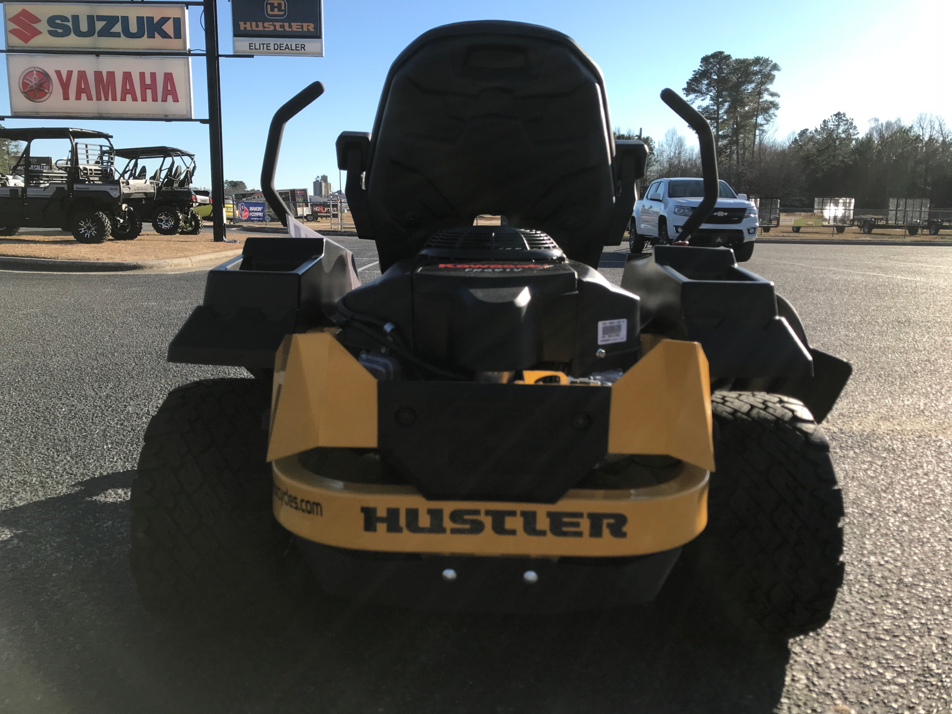 2021 Hustler Turf Equipment Raptor XL 54 in. Kawasaki FR691 23 hp in Greenville, North Carolina - Photo 3
