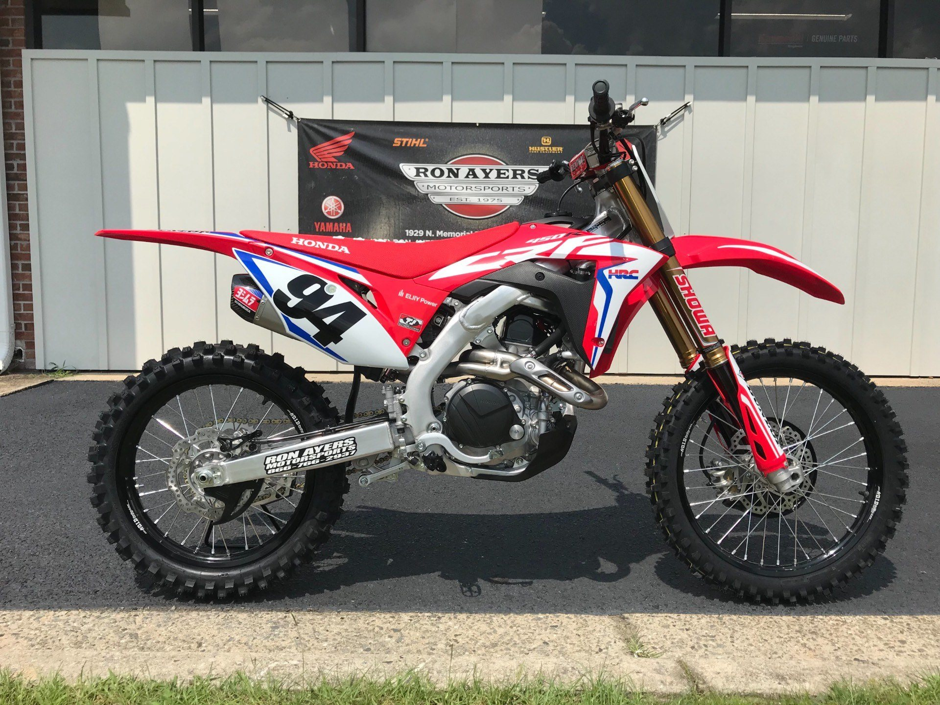 2019 Honda CRF450RWE in Greenville, North Carolina - Photo 1