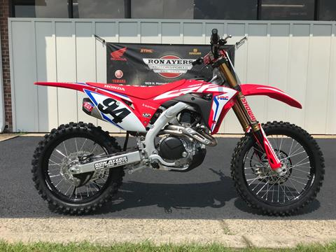 2019 Honda CRF450RWE in Greenville, North Carolina