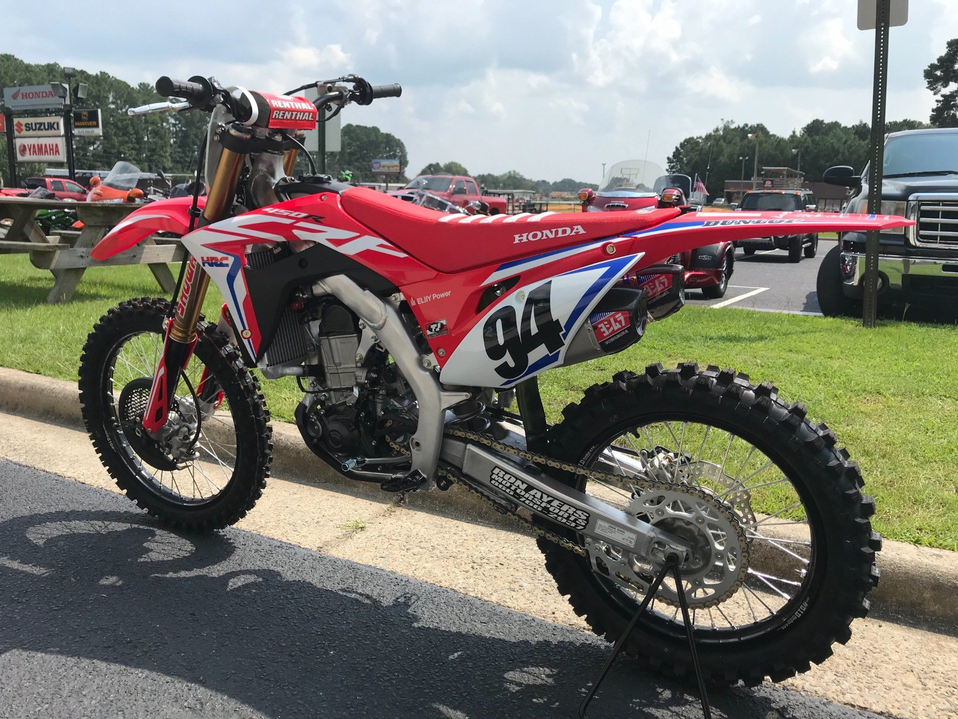 2019 Honda CRF450RWE in Greenville, North Carolina - Photo 8