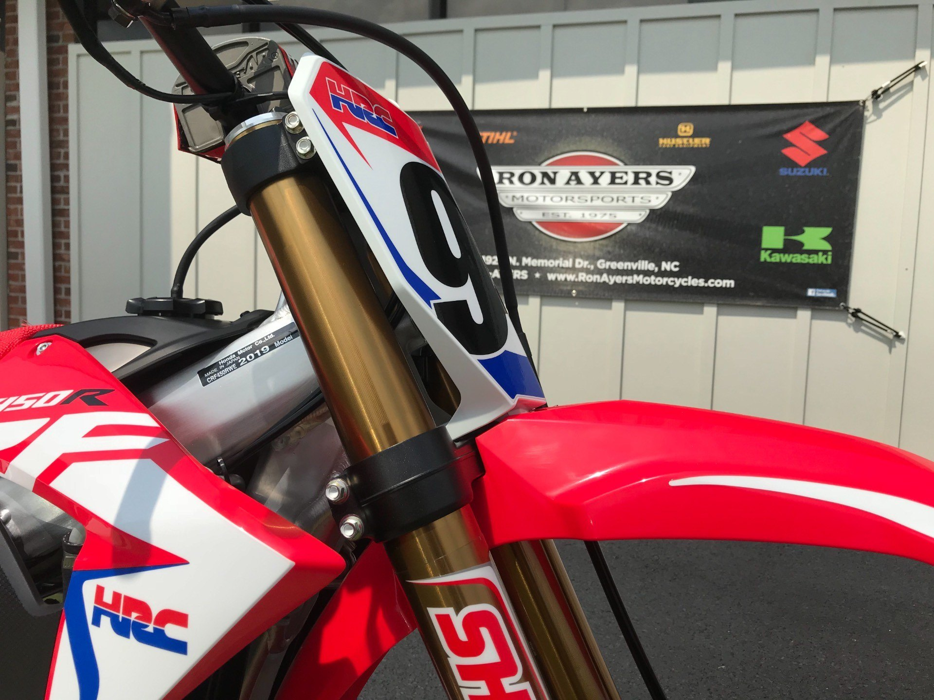 2019 Honda CRF450RWE in Greenville, North Carolina - Photo 13