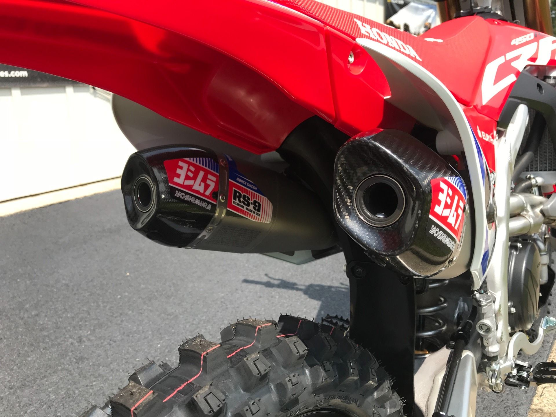 2019 Honda CRF450RWE in Greenville, North Carolina - Photo 20