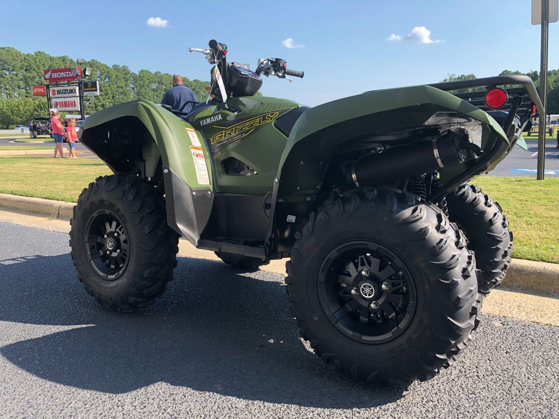 2020 Yamaha Grizzly EPS in Greenville, North Carolina - Photo 8