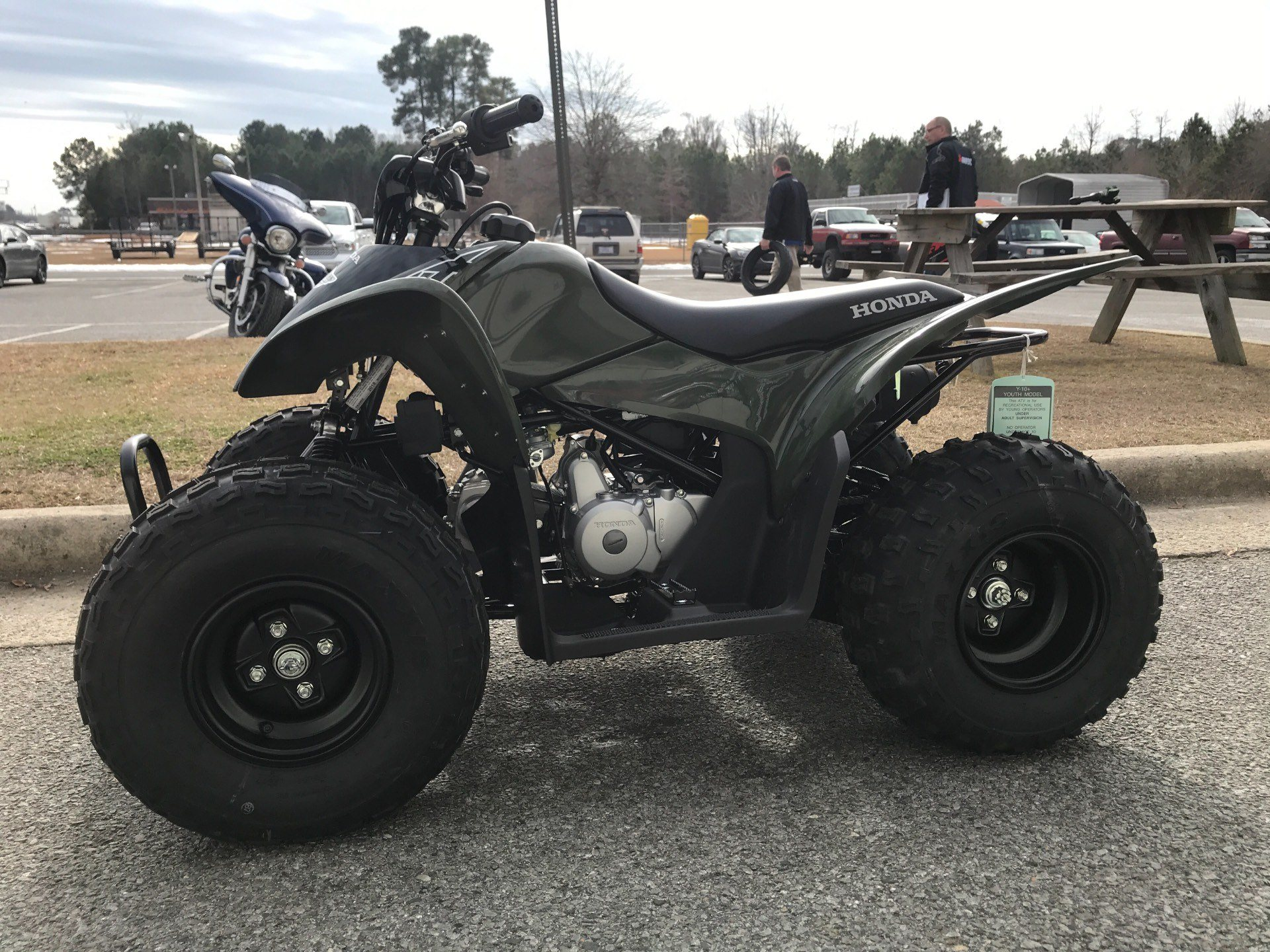 2018 Honda TRX90X in Greenville, North Carolina