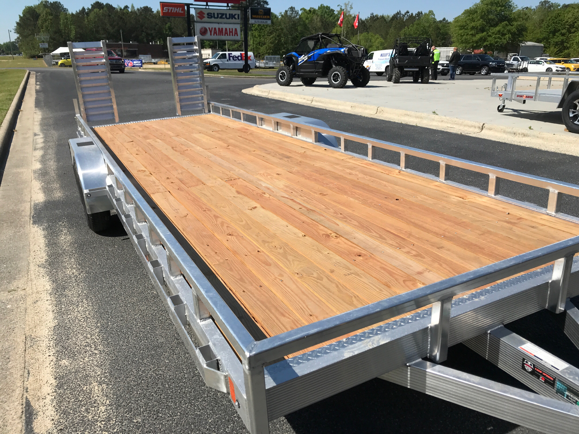 2021 Sport Haven 7 x 22 (2) 3.5k axle in Greenville, North Carolina - Photo 6