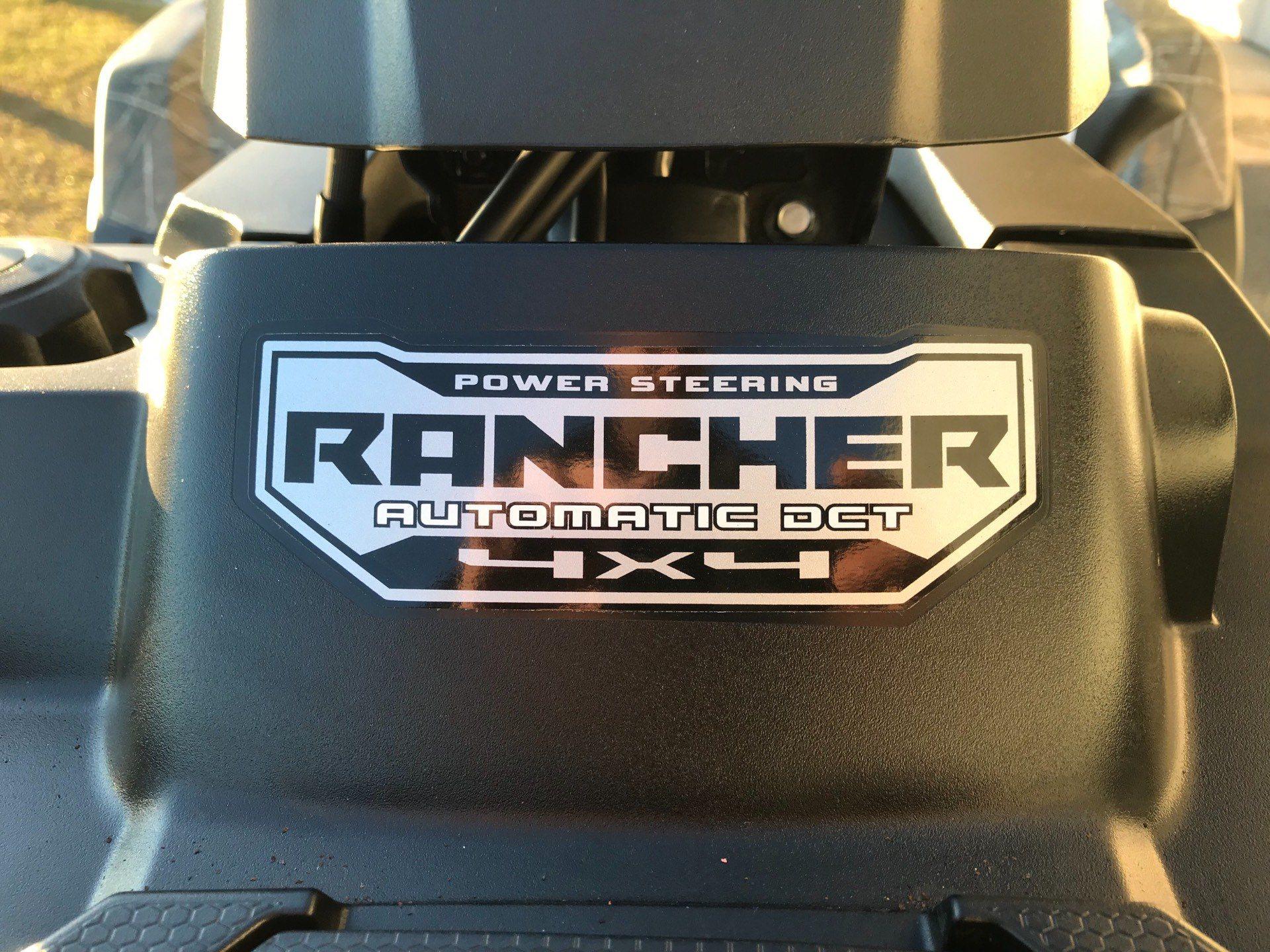 2019 Honda FourTrax Rancher 4x4 DCT EPS 10
