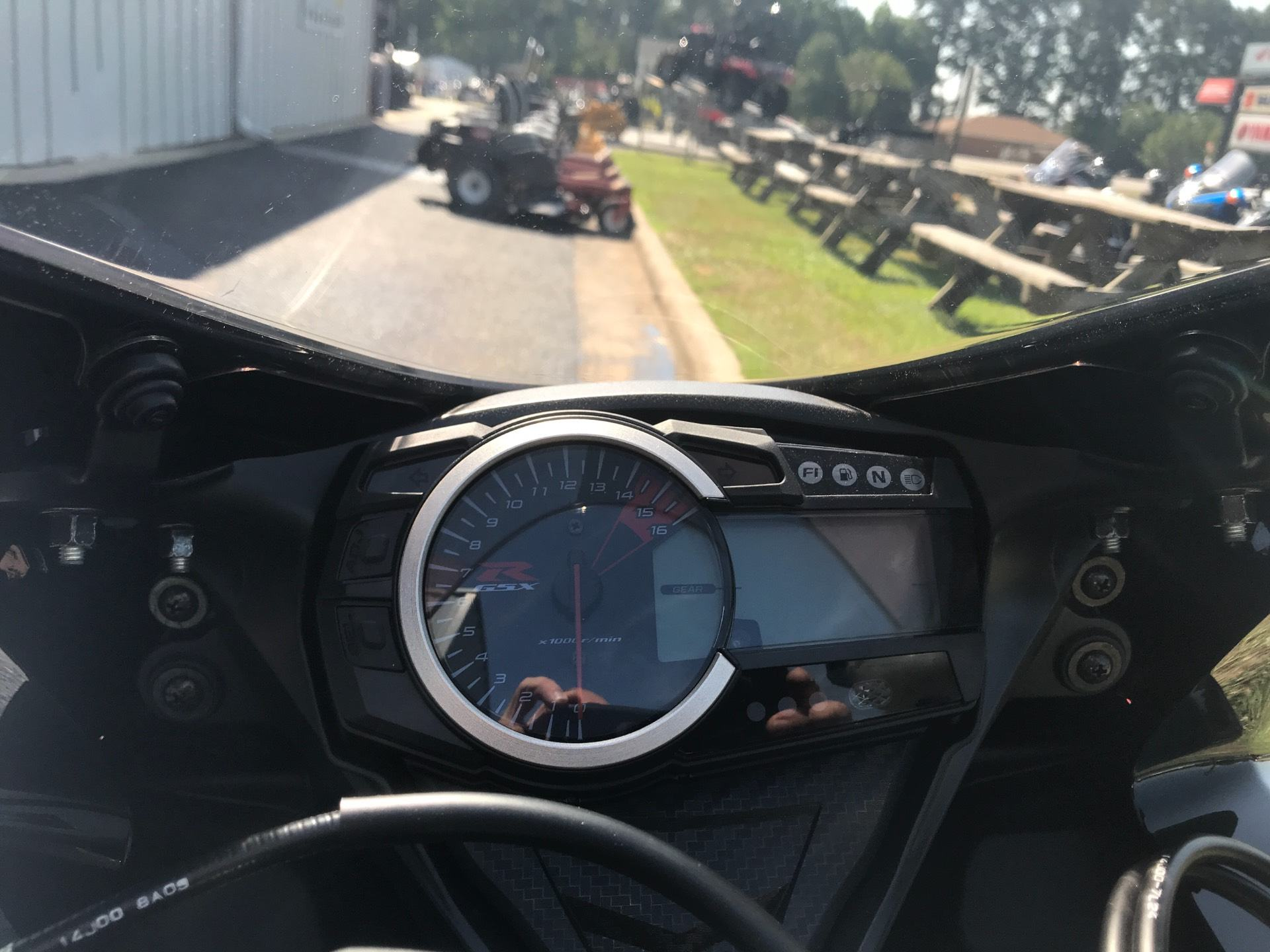 2018 Suzuki GSX-R750 in Greenville, North Carolina
