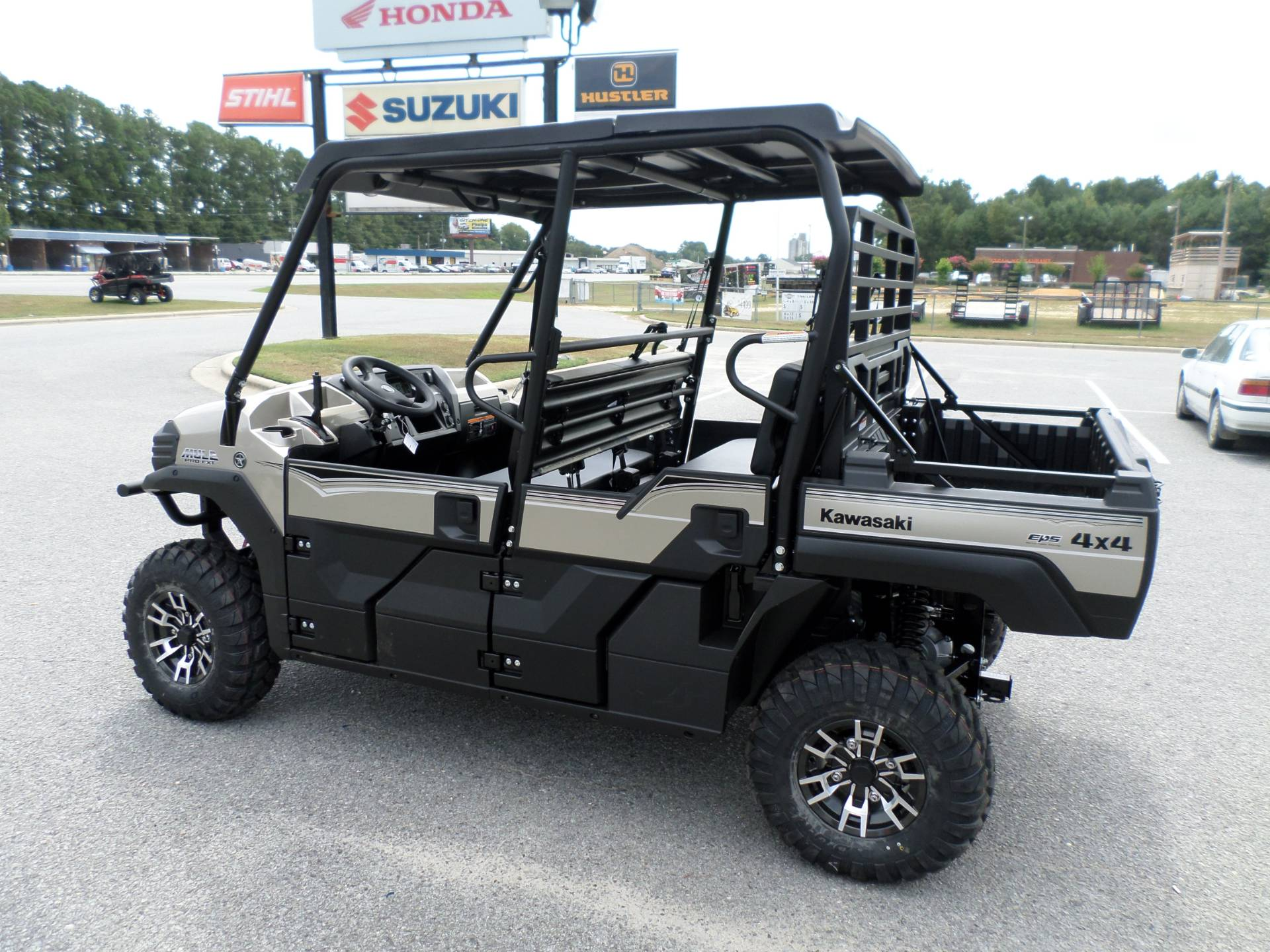 2017 Kawasaki Mule PRO-FXT Ranch Edition in Greenville, North Carolina