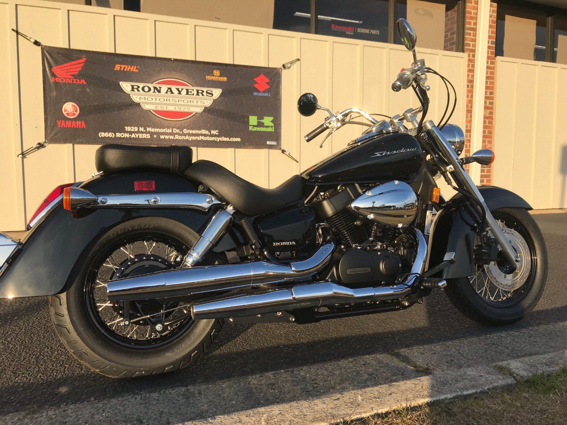 New 2019 Honda Shadow Aero 750 Motorcycles In Greenville Nc Stock