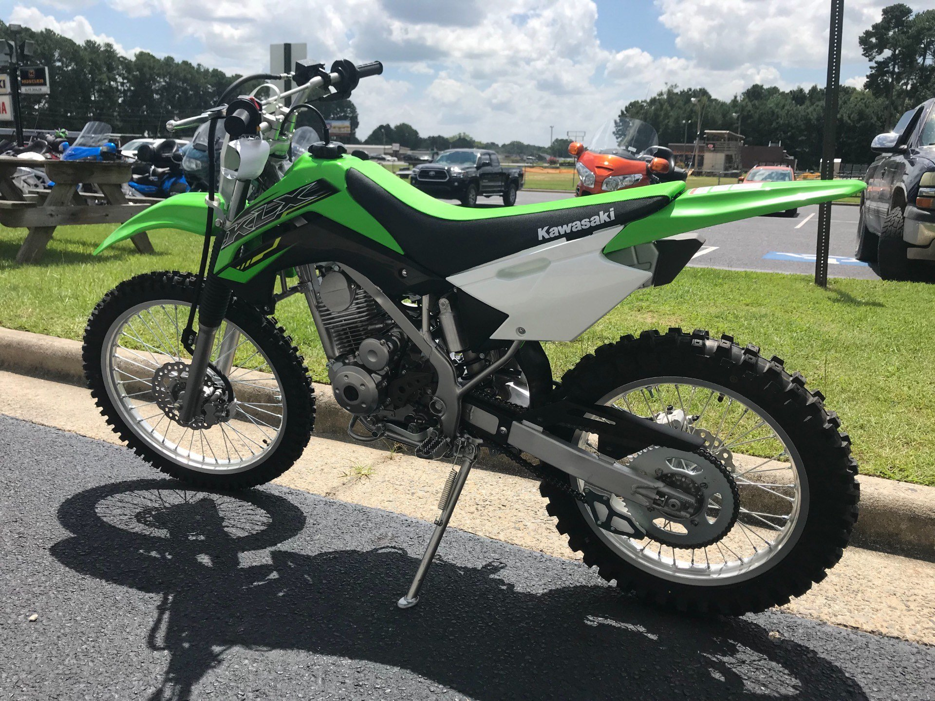 2019 Kawasaki KLX 140G in Greenville, North Carolina - Photo 8