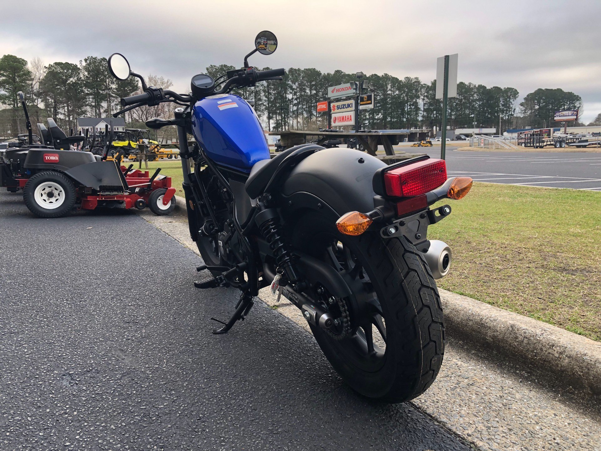 2018 Honda Rebel 300 9