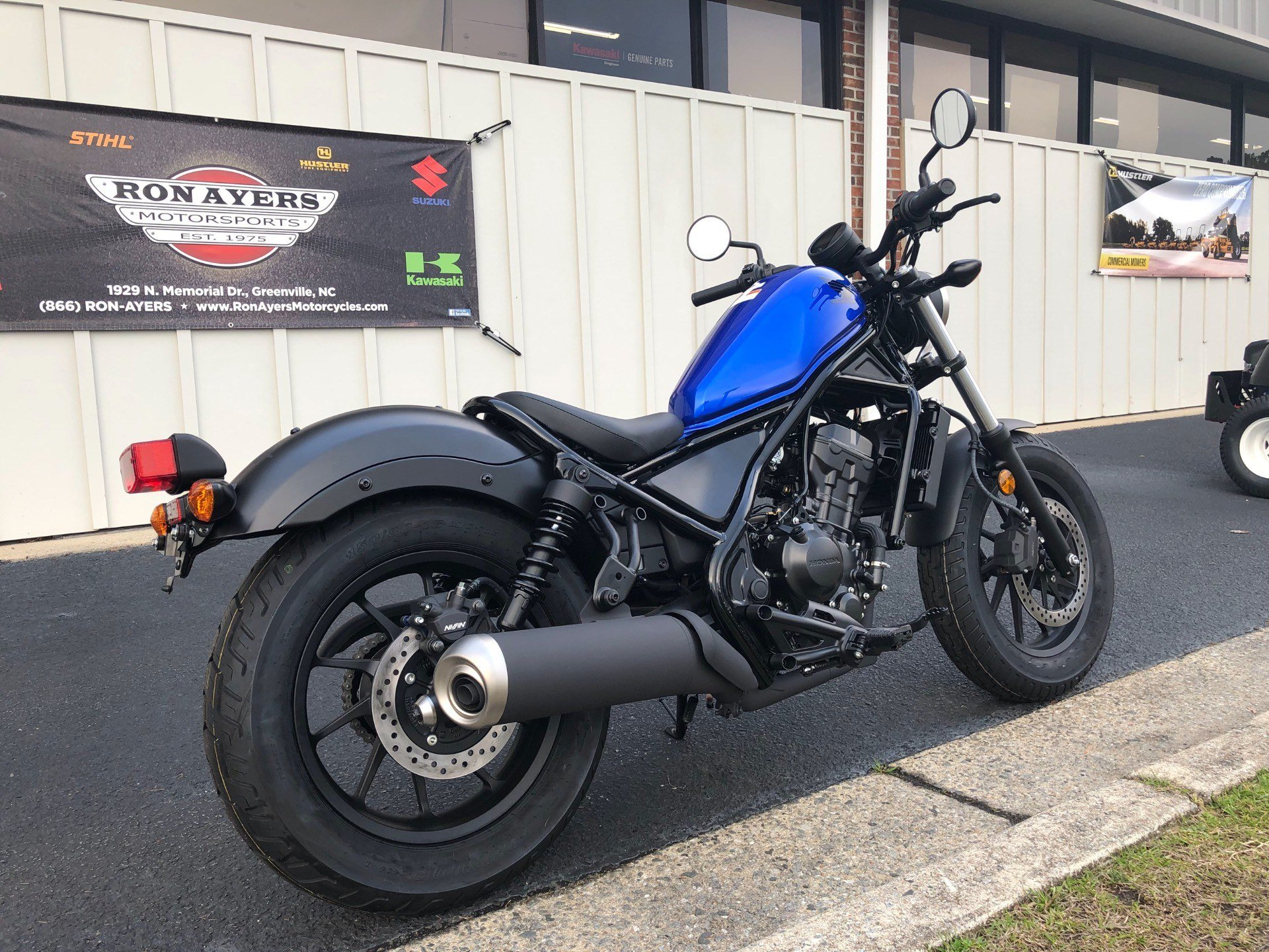 2018 Honda Rebel 300 11