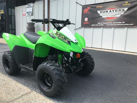 2021 Kawasaki KFX 50 in Greenville, North Carolina - Photo 2