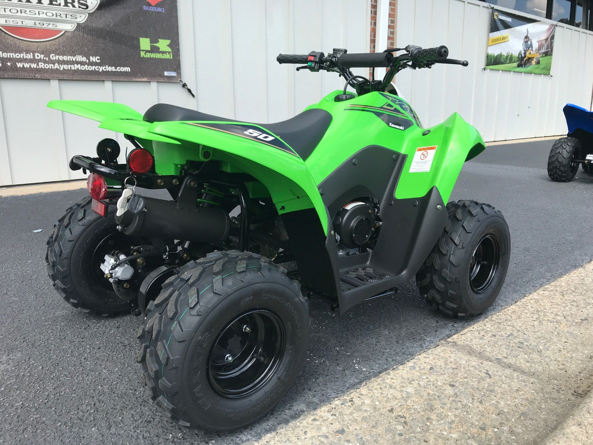 2021 Kawasaki KFX 50 in Greenville, North Carolina - Photo 8