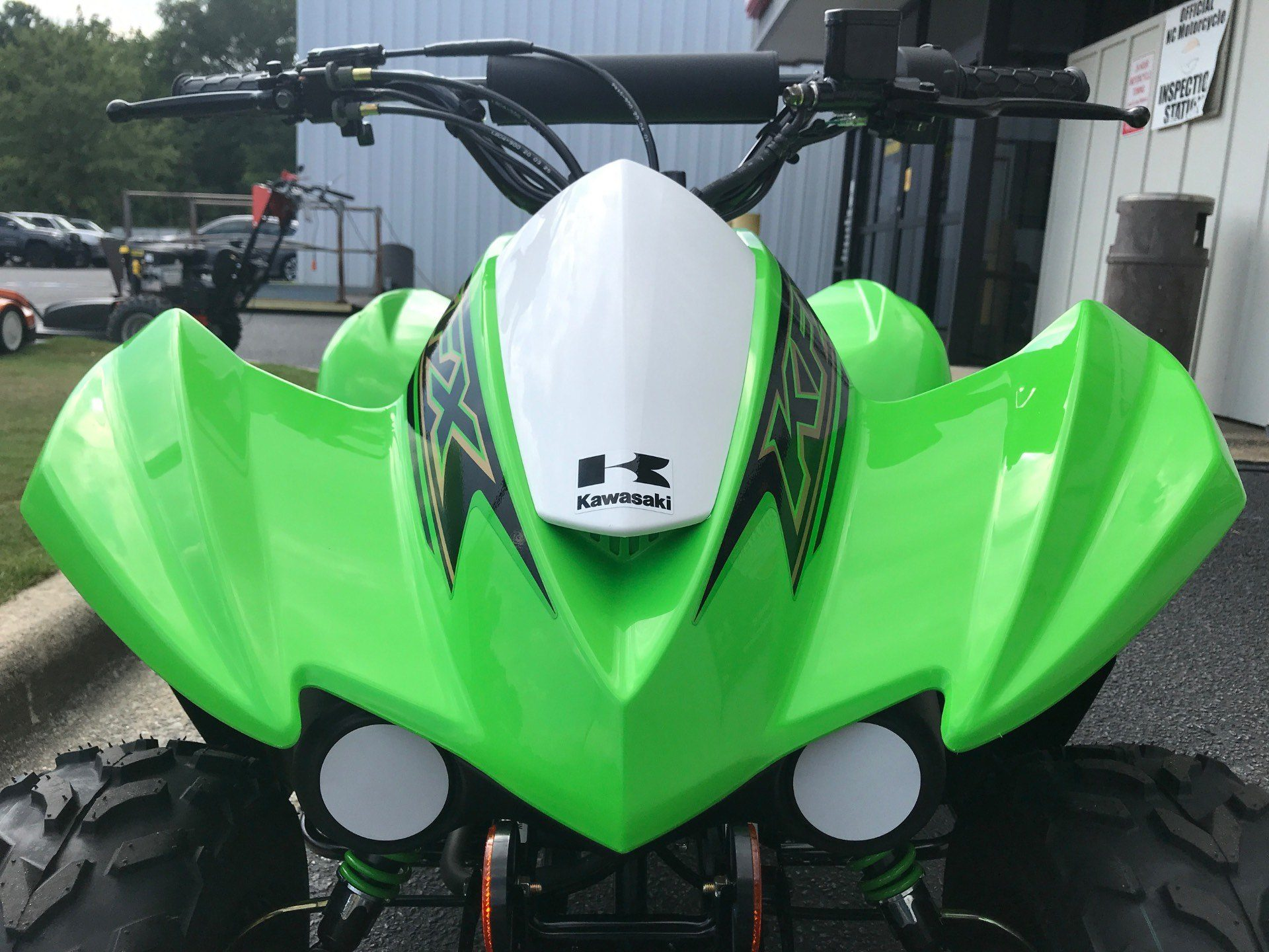 2021 Kawasaki KFX 50 in Greenville, North Carolina - Photo 9