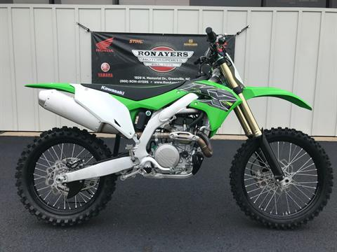 2019 Kawasaki KX 450 in Greenville, North Carolina