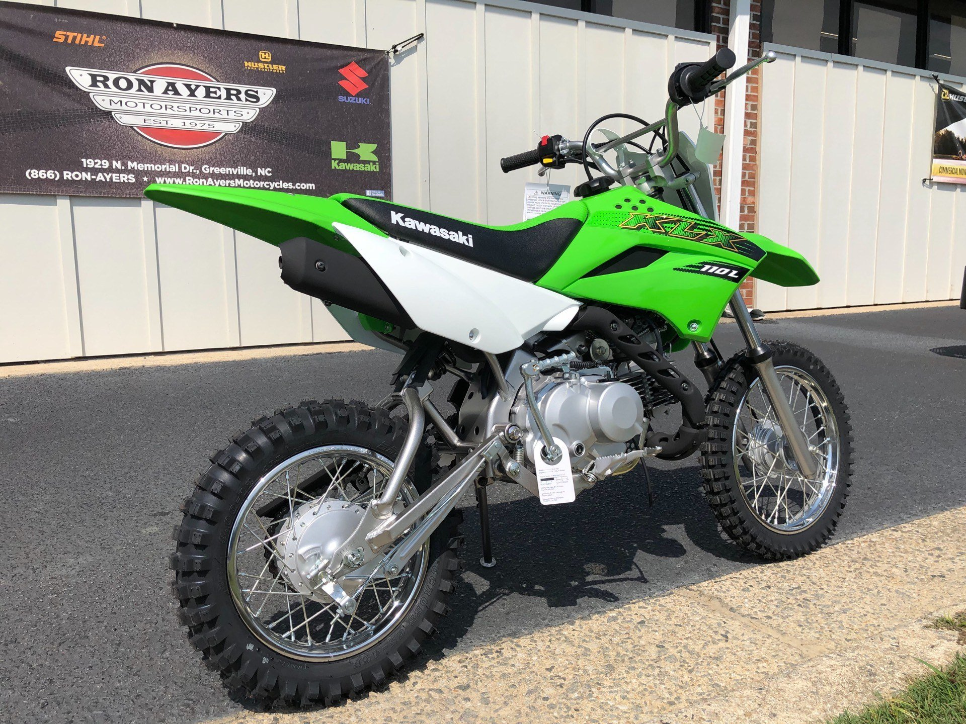 2020 Kawasaki KLX 110L in Greenville, North Carolina - Photo 8