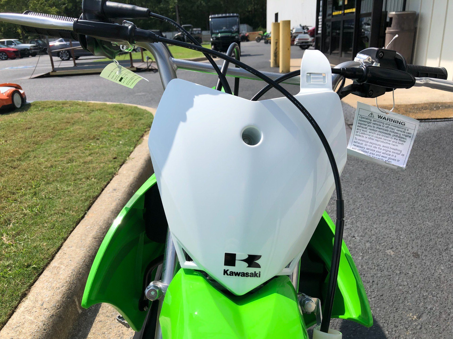 2020 Kawasaki KLX 110L in Greenville, North Carolina - Photo 9