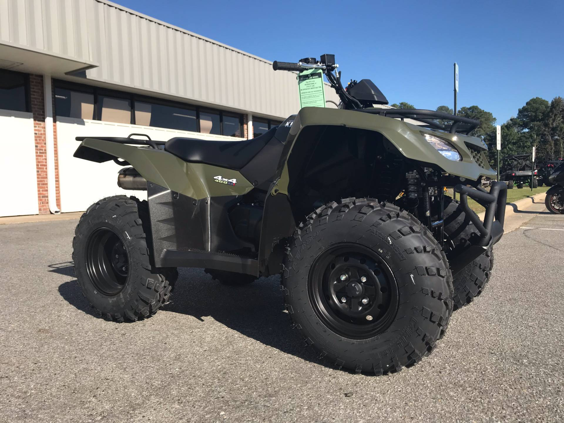 2018 Suzuki KingQuad 400ASi in Greenville, North Carolina - Photo 2