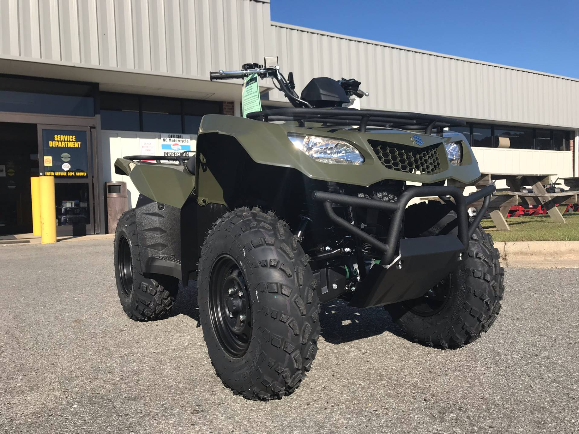 2018 Suzuki KingQuad 400ASi in Greenville, North Carolina - Photo 3