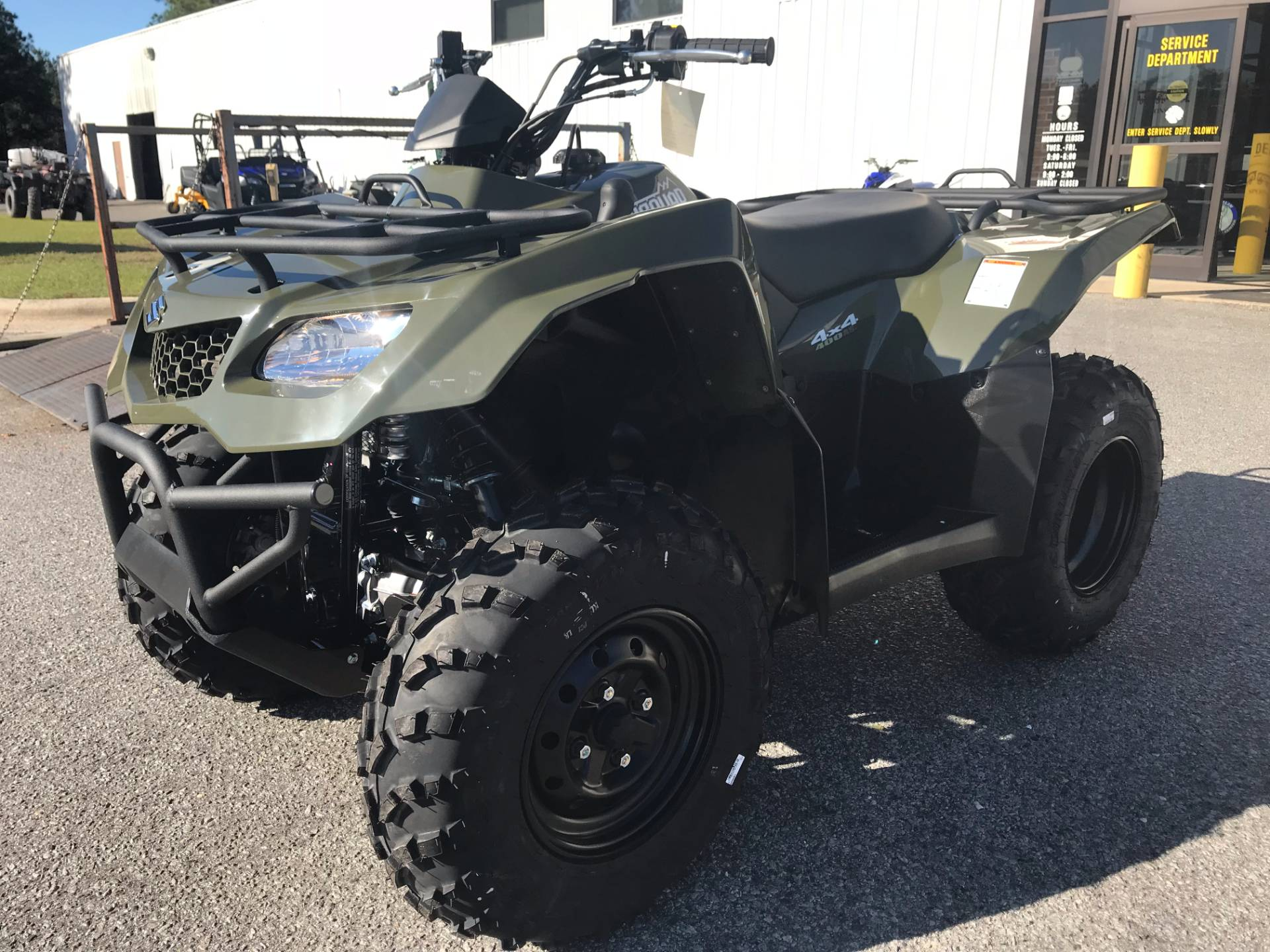 2018 Suzuki KingQuad 400ASi in Greenville, North Carolina - Photo 5