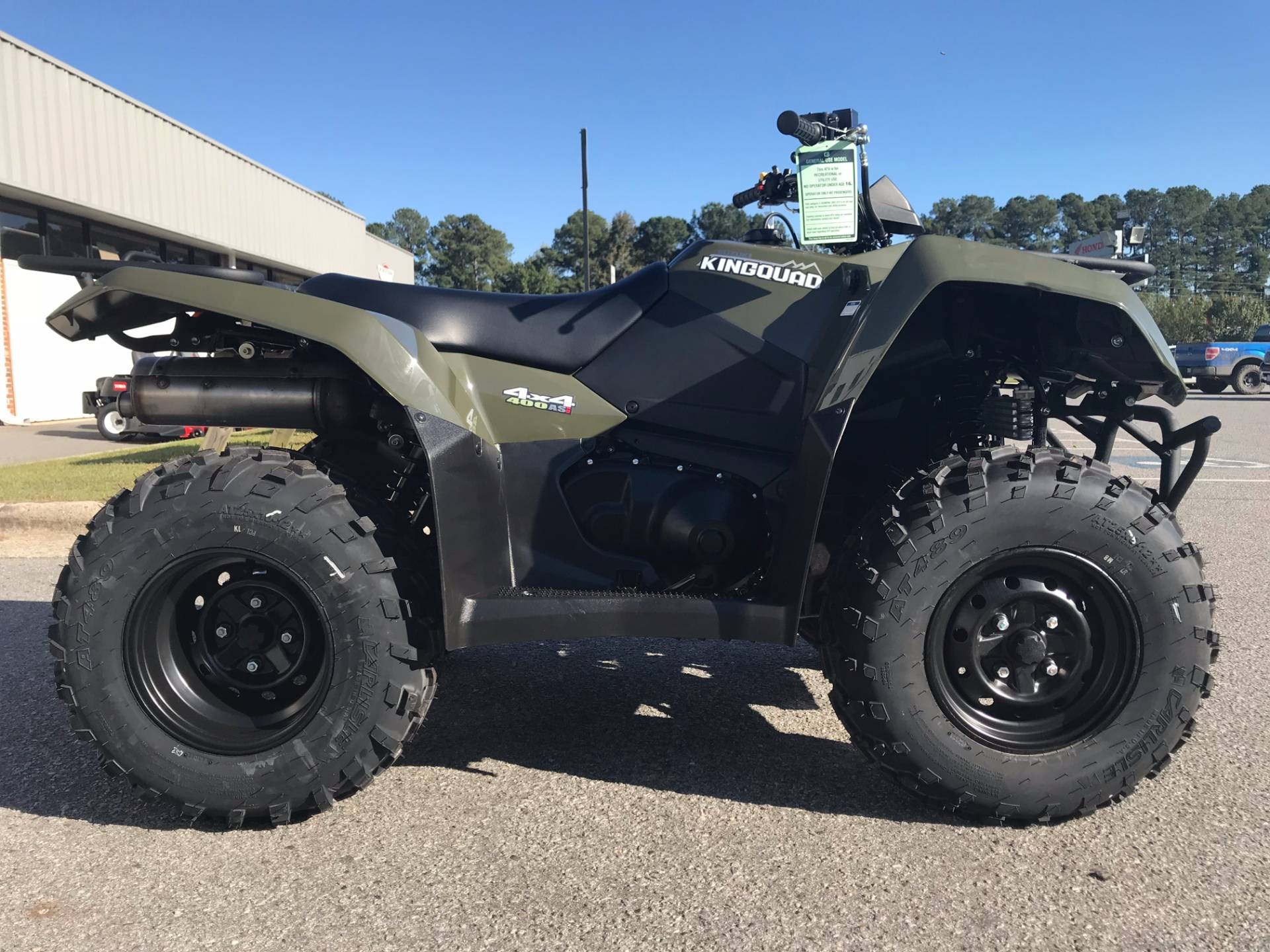 2018 Suzuki KingQuad 400ASi in Greenville, North Carolina - Photo 20
