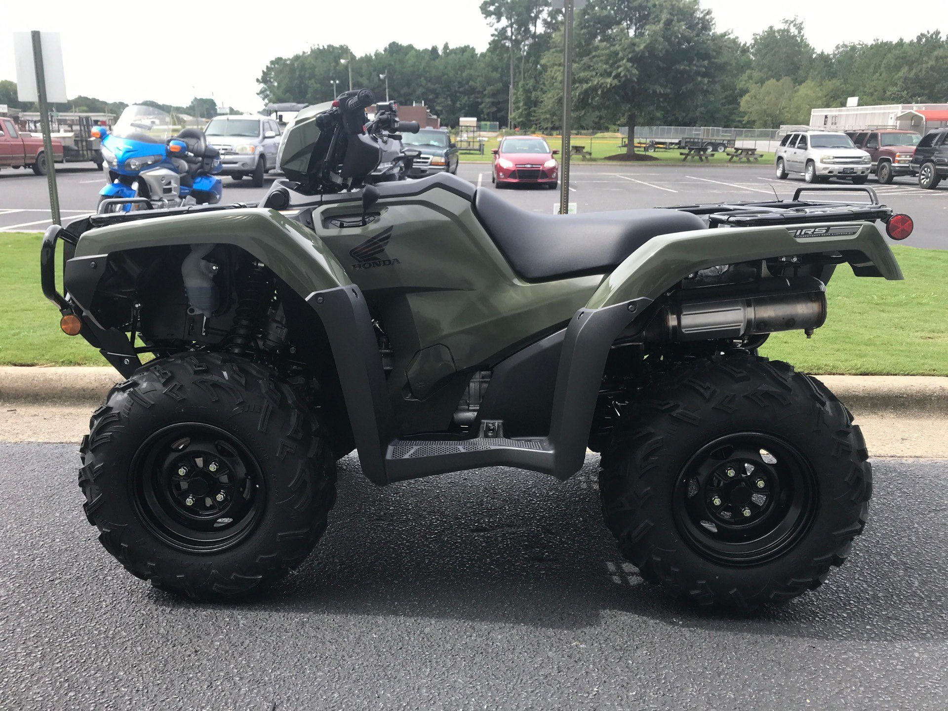 2021 Honda FourTrax Foreman Rubicon 4x4 Automatic DCT EPS in Greenville, North Carolina - Photo 5