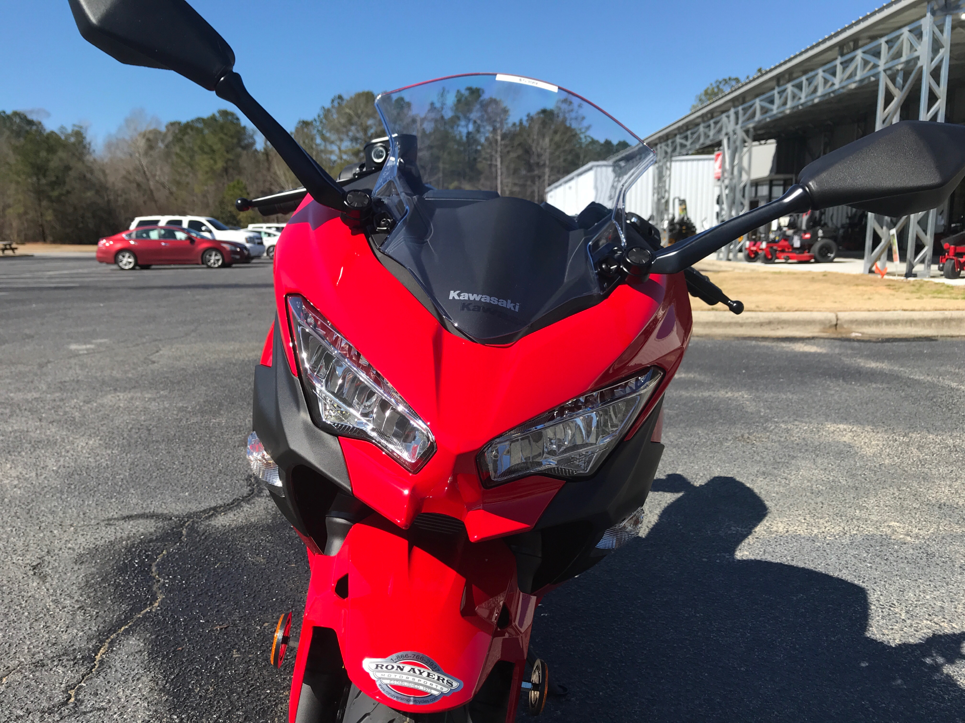 2021 Kawasaki Ninja 400 ABS in Greenville, North Carolina - Photo 9