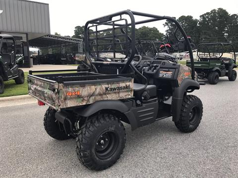 2018 Kawasaki Mule SX 4X4 XC CAMO in Greenville, North Carolina