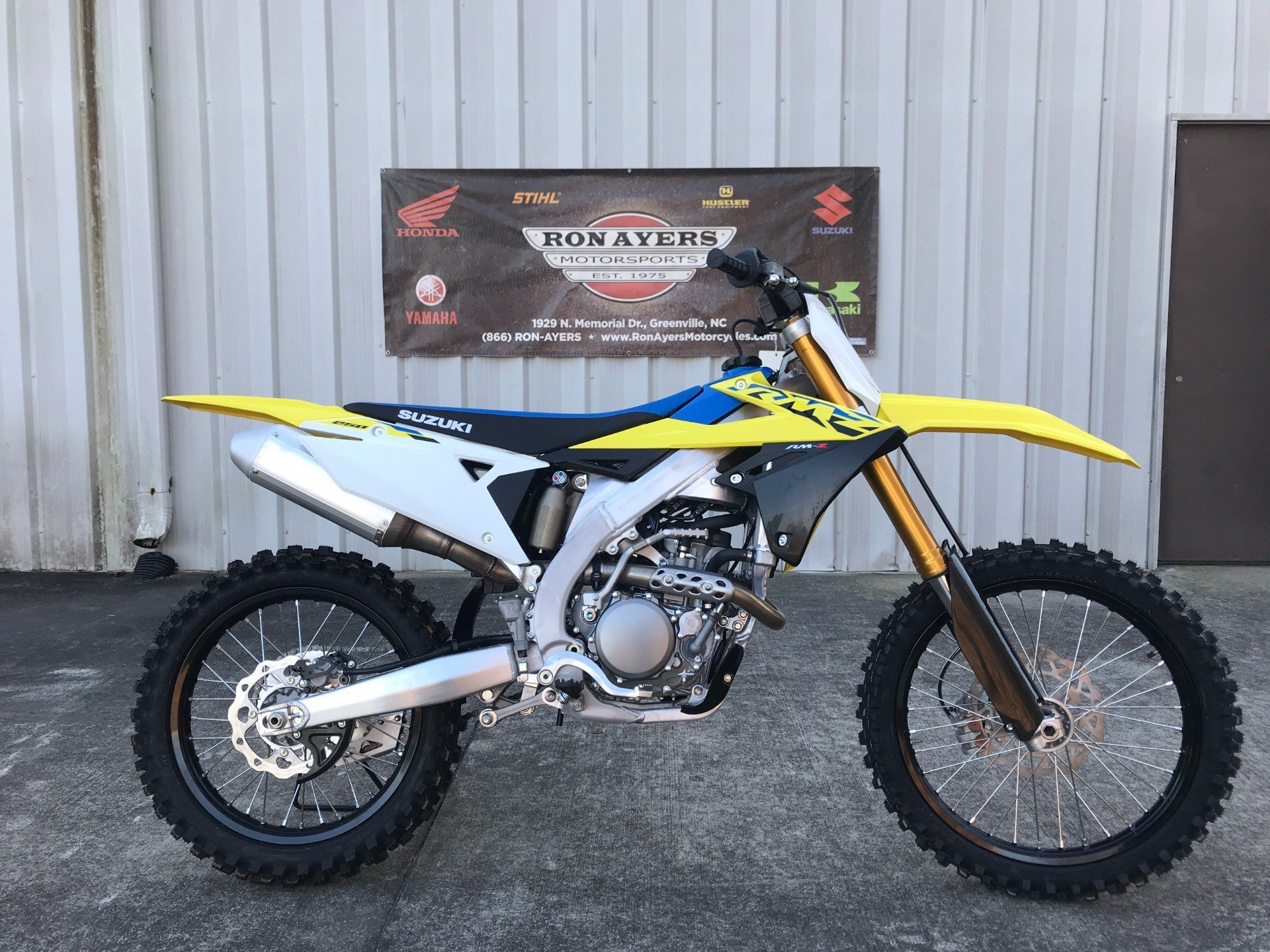 2021 Suzuki RM-Z250 in Greenville, North Carolina - Photo 1