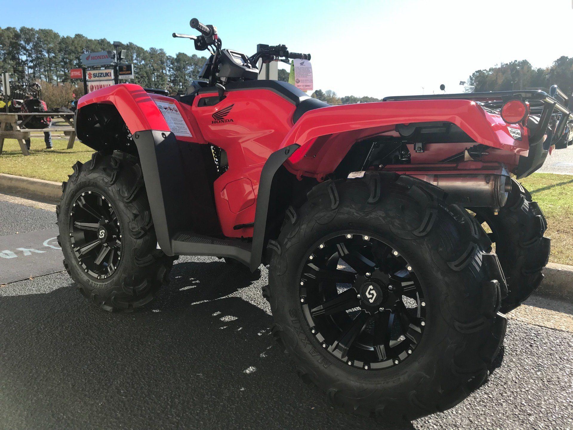 2019 Honda FourTrax Rancher 4x4 in Greenville, North Carolina - Photo 8