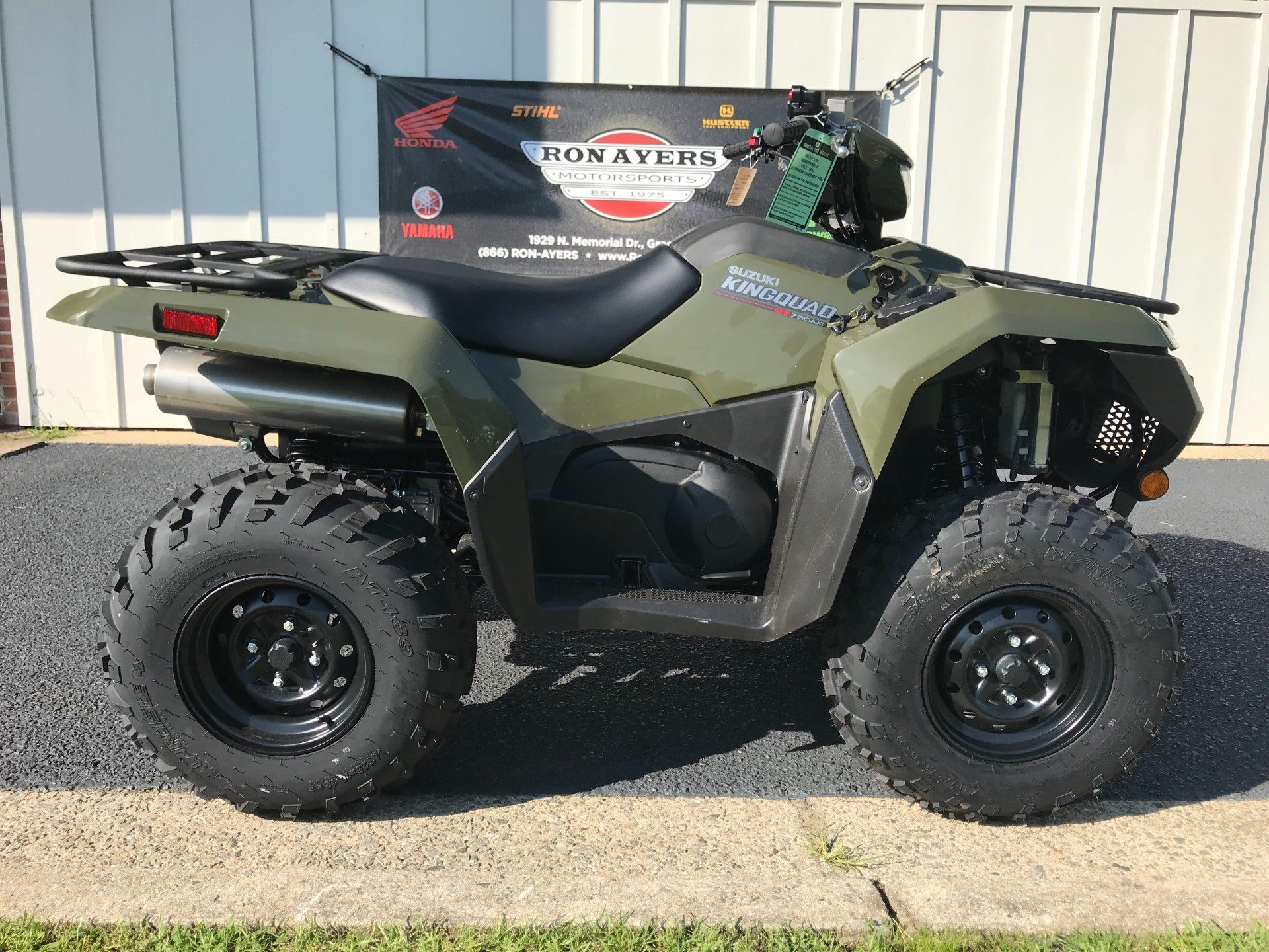 2019 Suzuki KingQuad 750AXi in Greenville, North Carolina - Photo 1