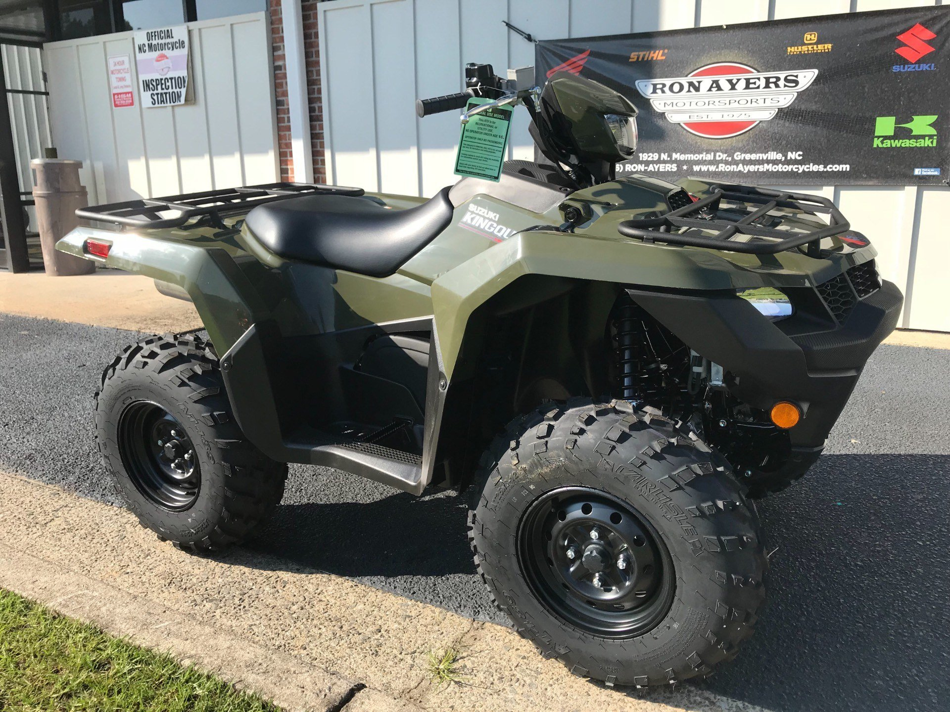 2019 Suzuki KingQuad 750AXi in Greenville, North Carolina - Photo 2