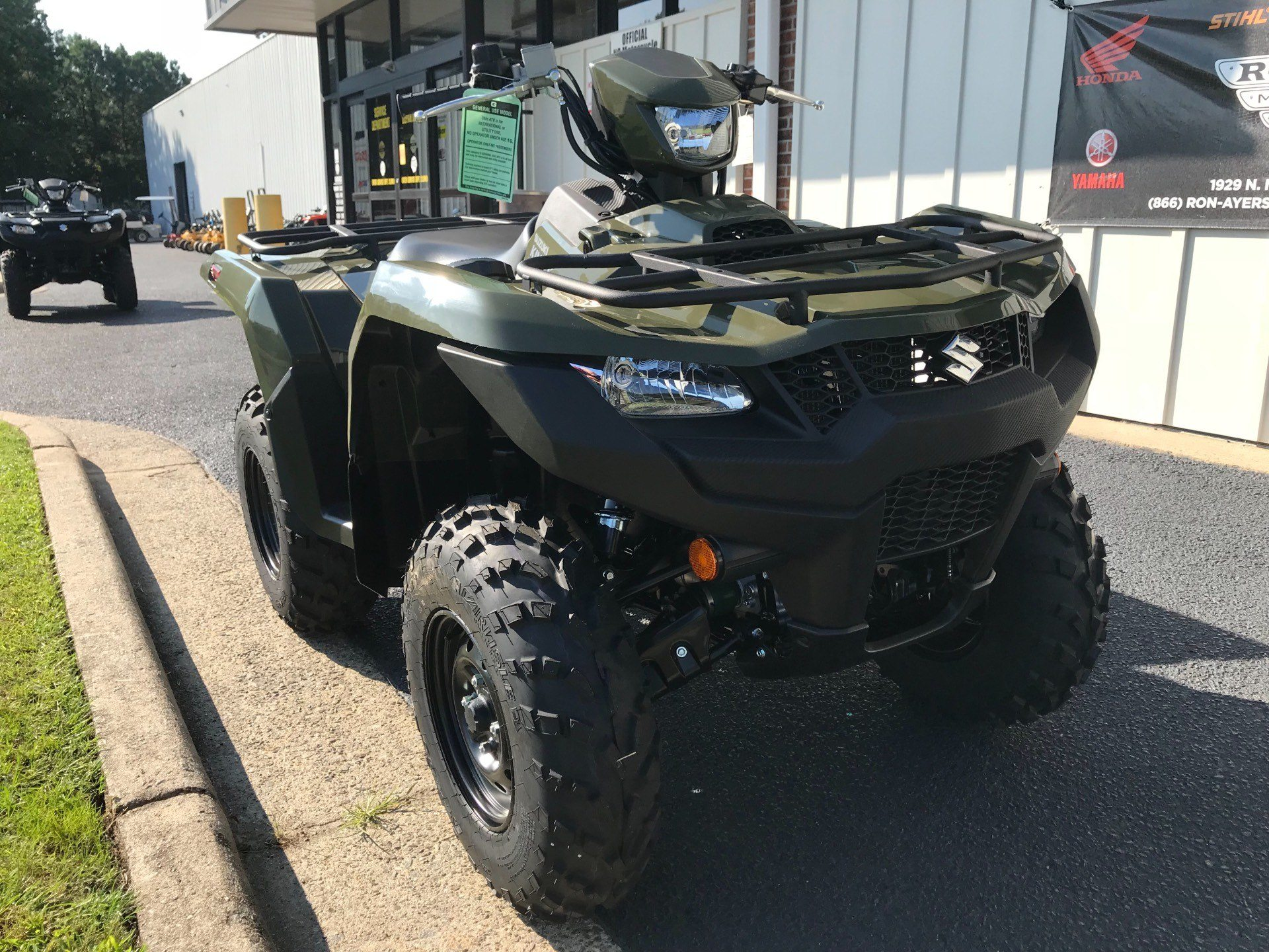 2019 Suzuki KingQuad 750AXi in Greenville, North Carolina - Photo 3