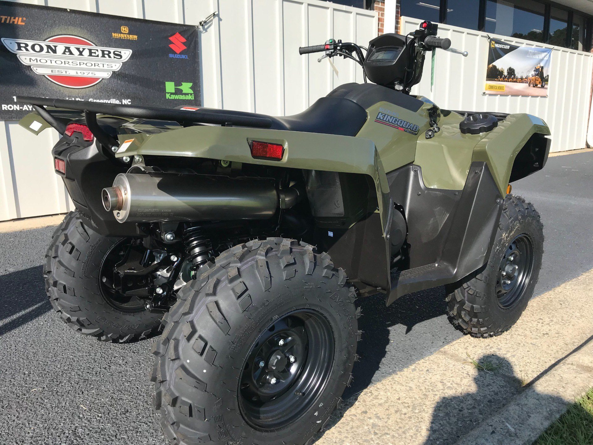 2019 Suzuki KingQuad 750AXi in Greenville, North Carolina - Photo 11