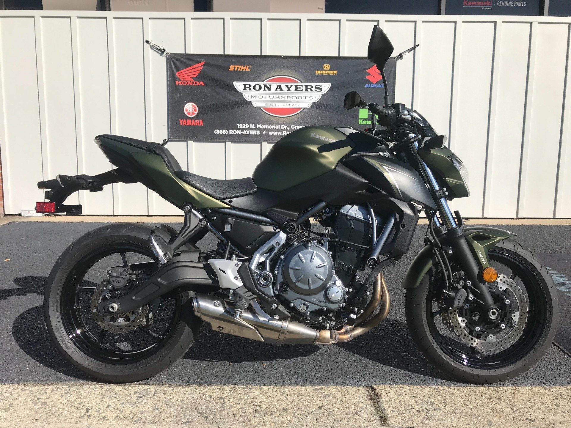 2018 Kawasaki Z650 ABS in Greenville, North Carolina - Photo 1