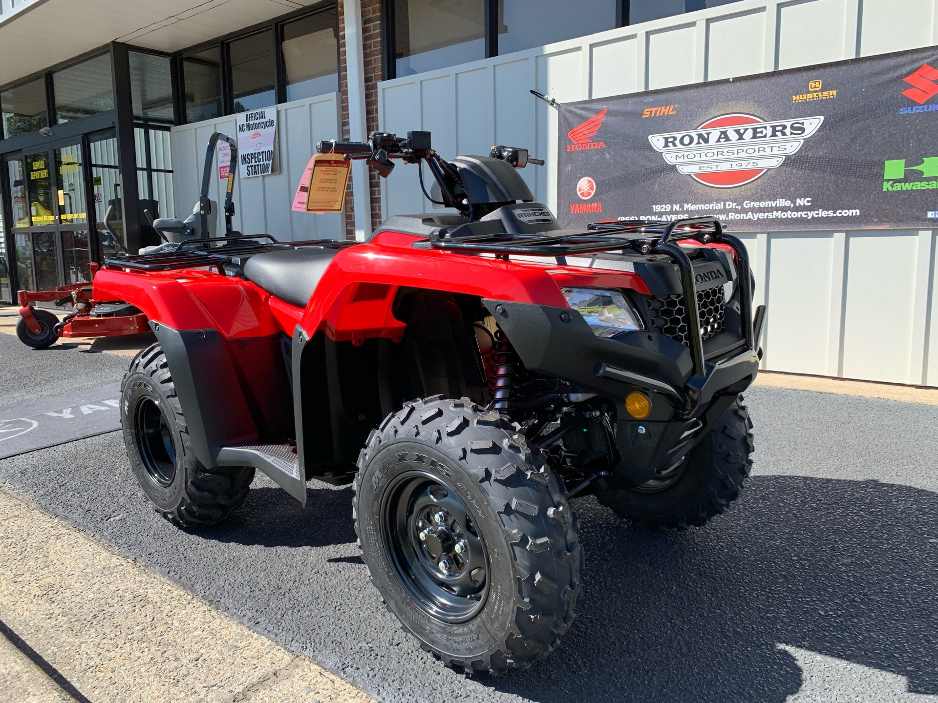 2019 Honda FourTrax Rancher in Greenville, North Carolina - Photo 3