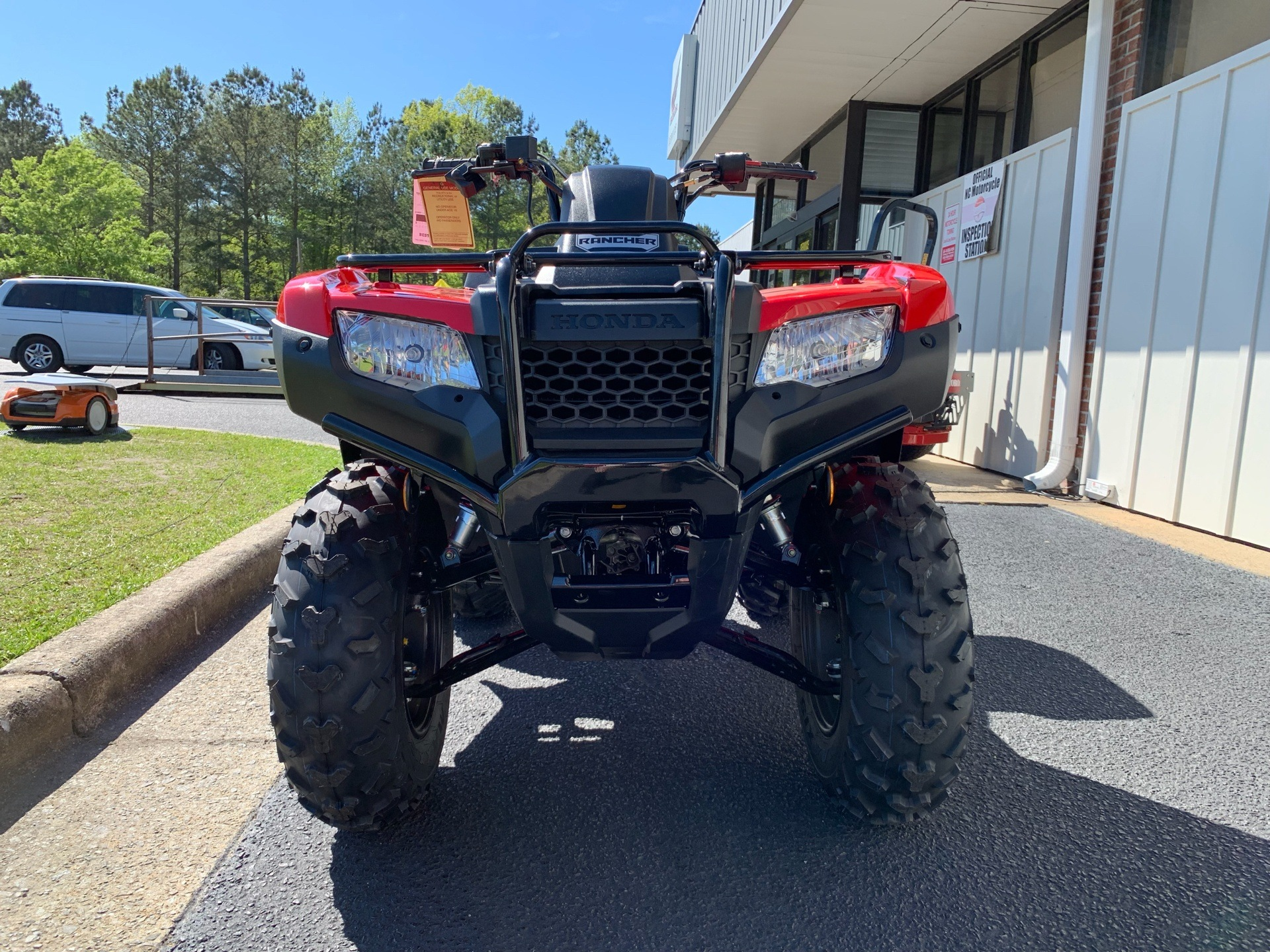2019 Honda FourTrax Rancher in Greenville, North Carolina - Photo 4