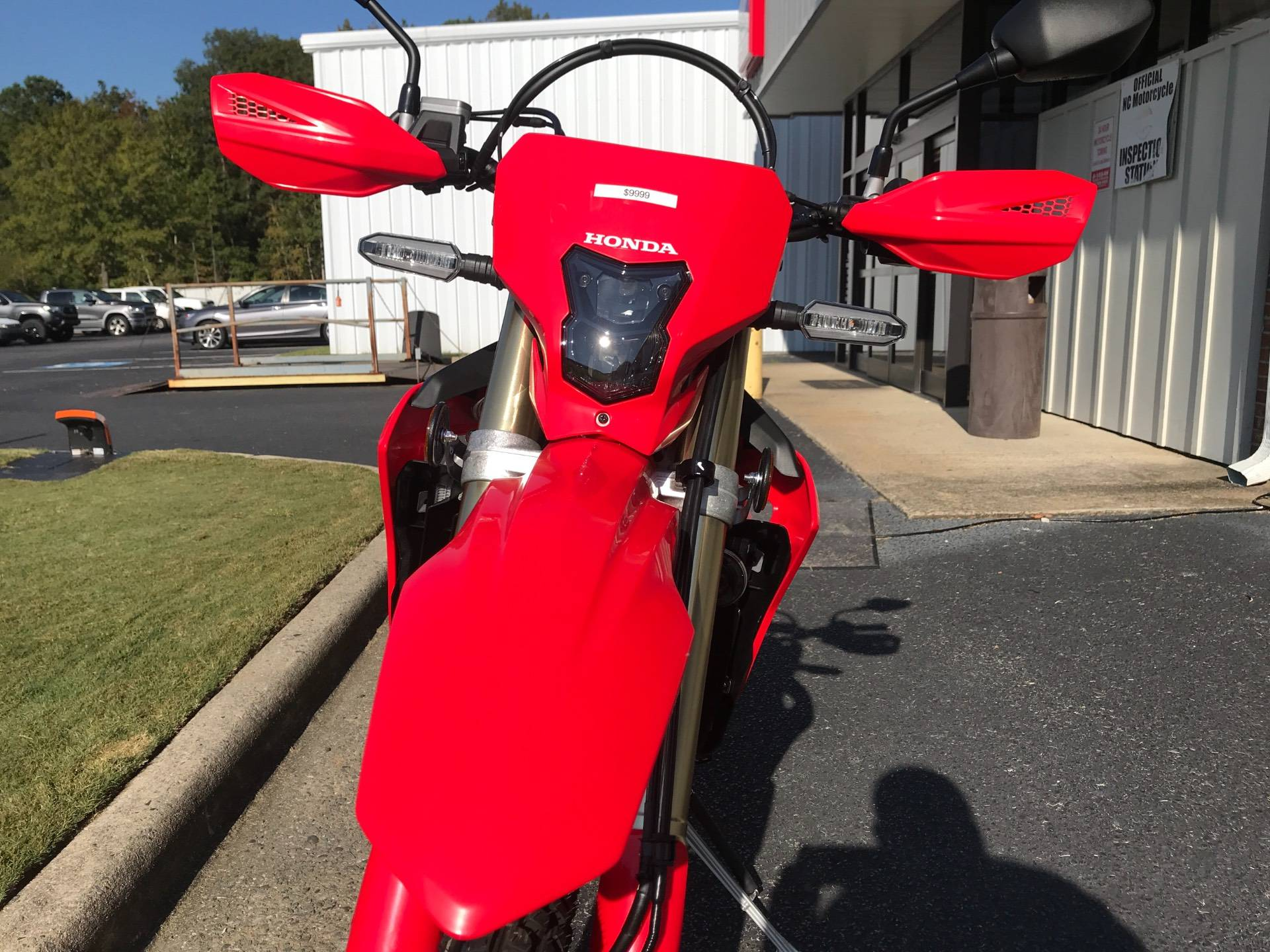 2021 Honda CRF450RL in Greenville, North Carolina - Photo 9
