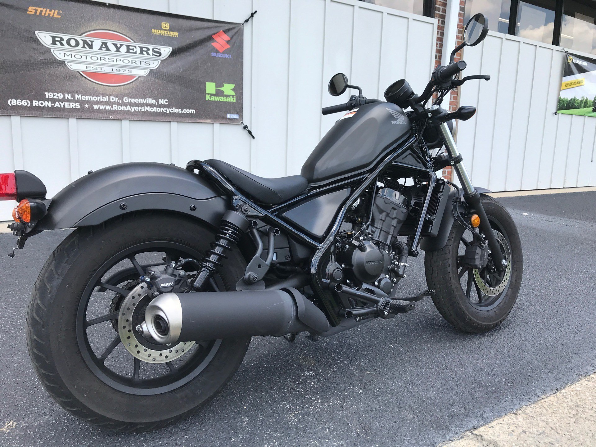 2019 Honda Rebel 300 ABS in Greenville, North Carolina - Photo 8