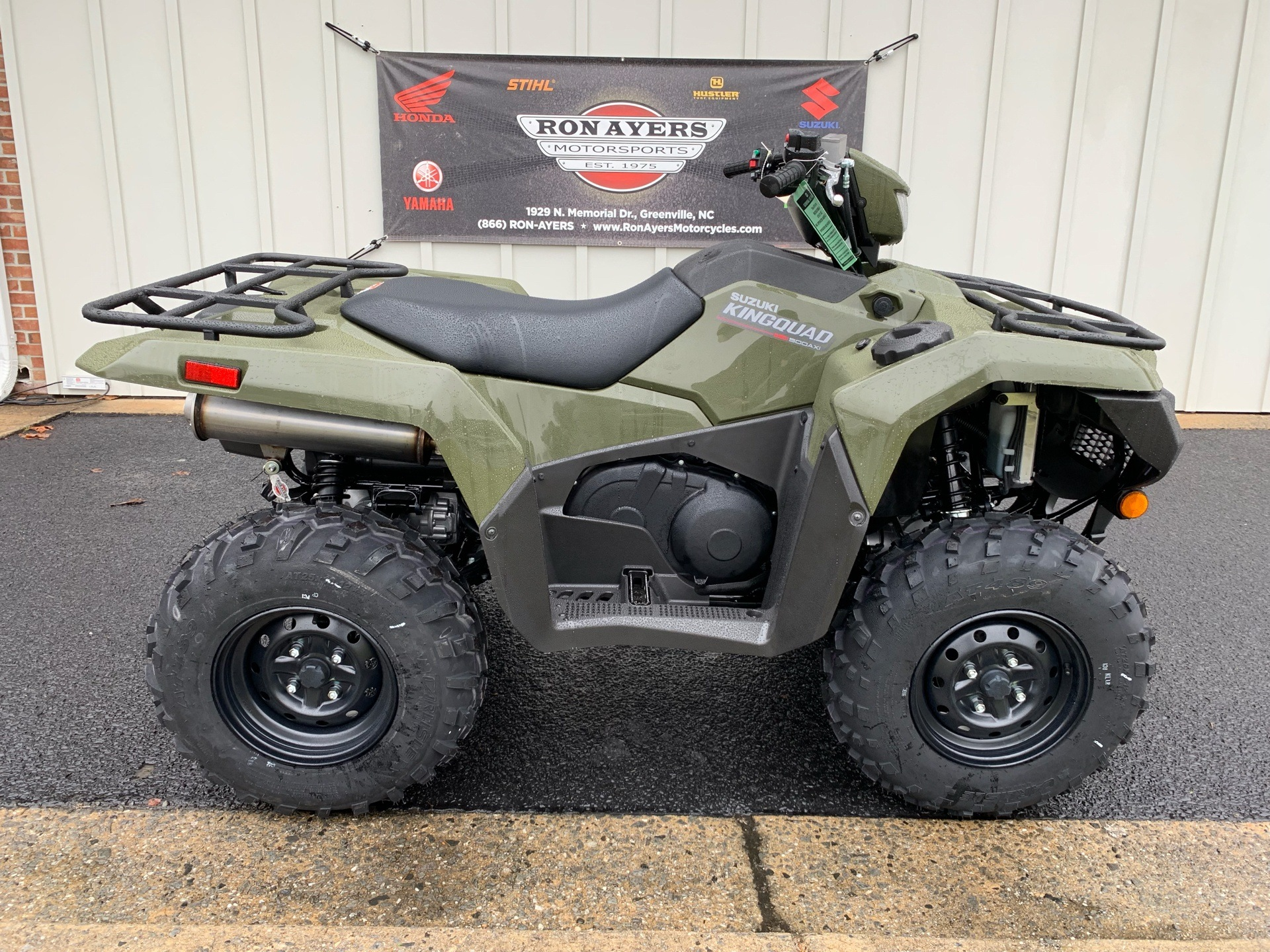 2019 Suzuki KingQuad 500AXi in Greenville, North Carolina - Photo 1