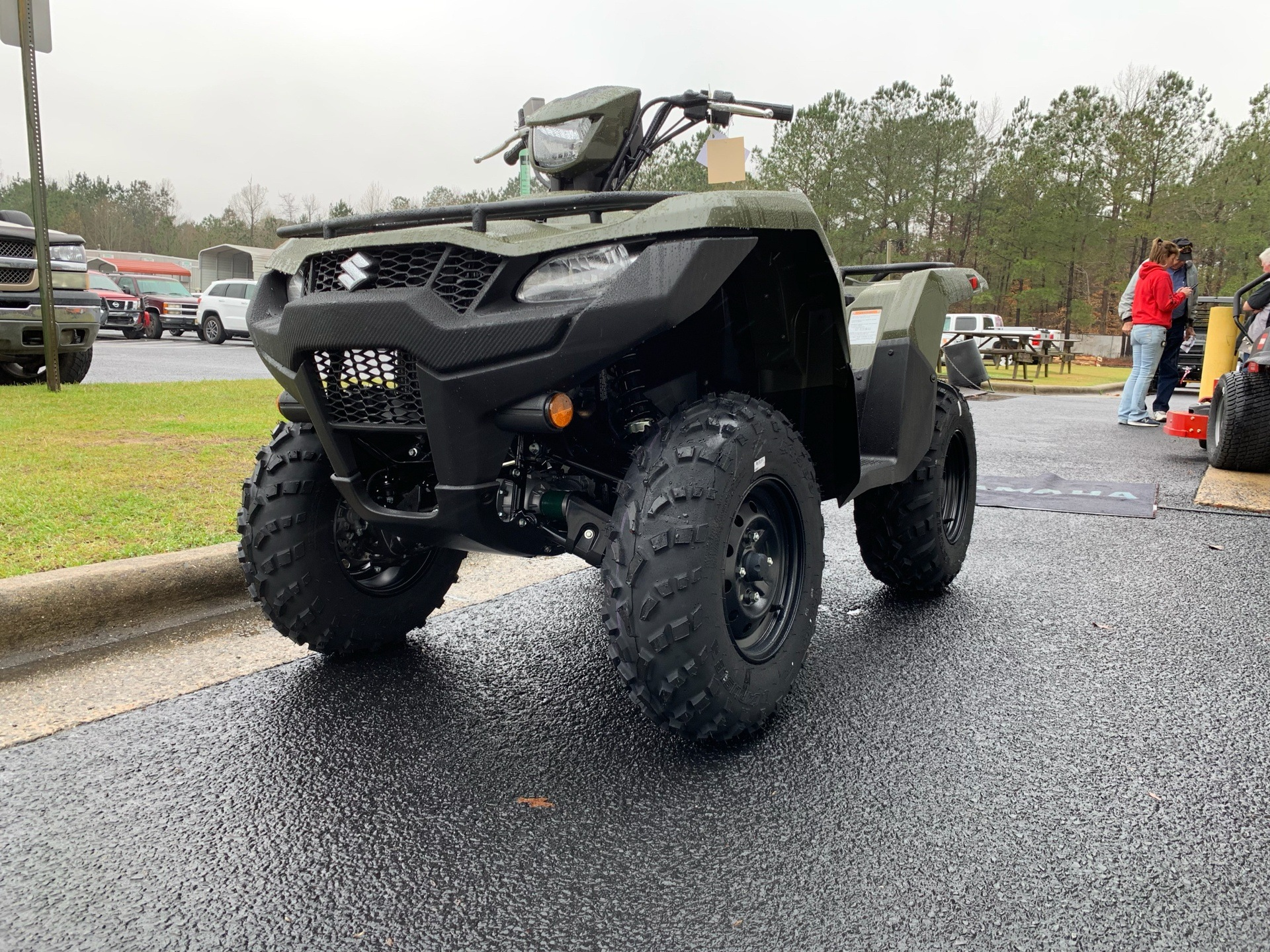 2019 Suzuki KingQuad 500AXi in Greenville, North Carolina - Photo 5