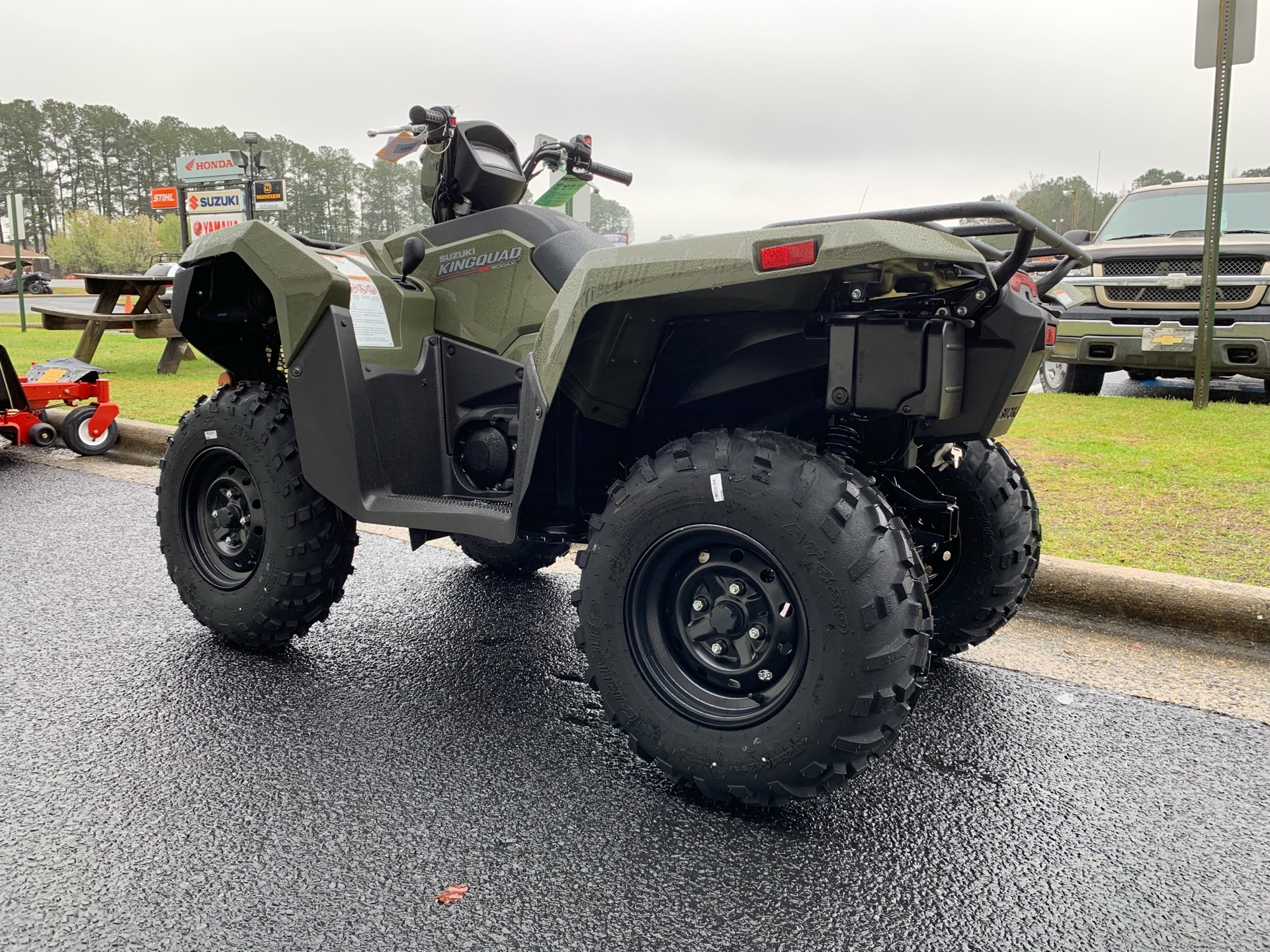 2019 Suzuki KingQuad 500AXi in Greenville, North Carolina - Photo 8