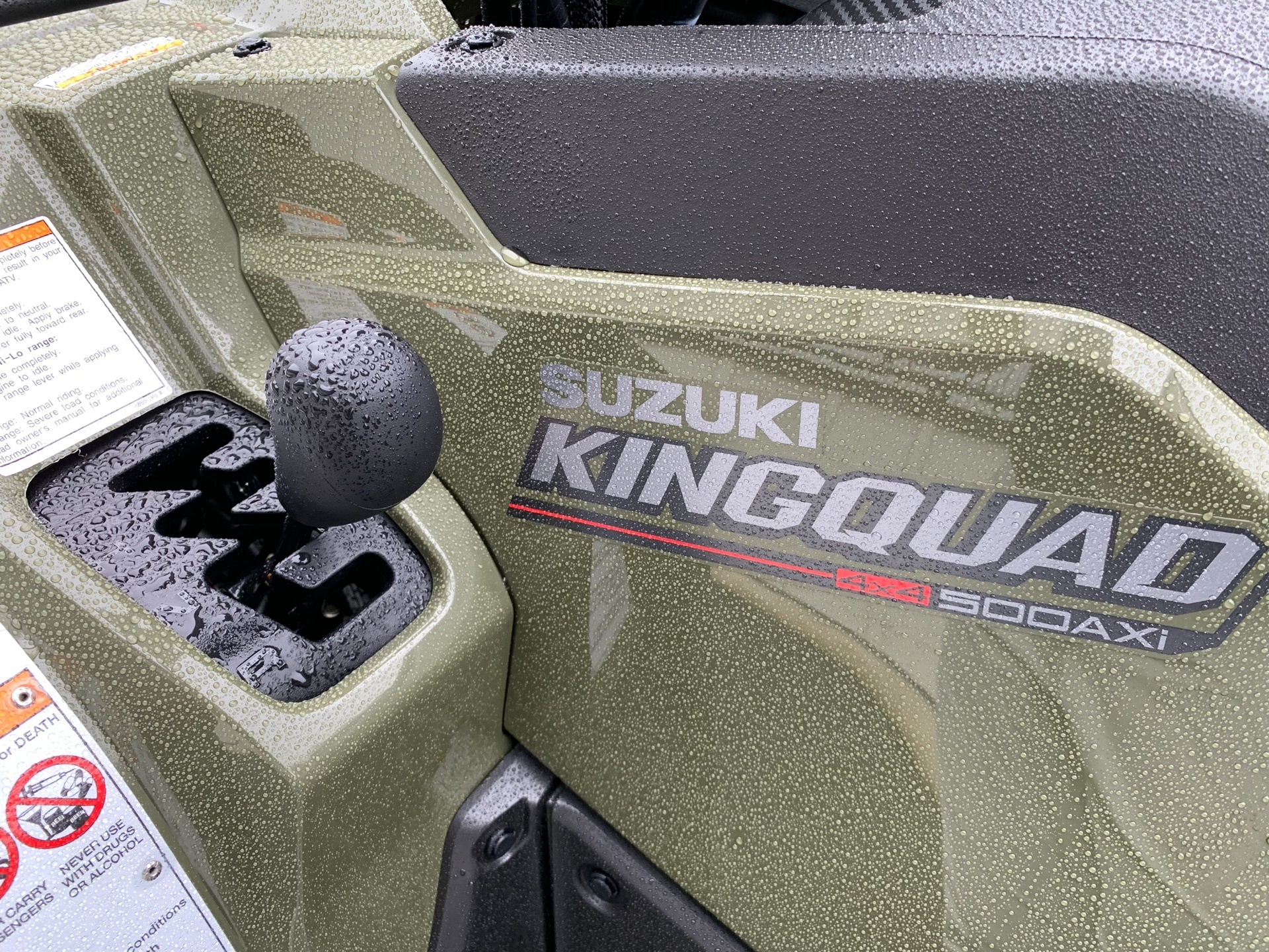 2019 Suzuki KingQuad 500AXi in Greenville, North Carolina - Photo 10